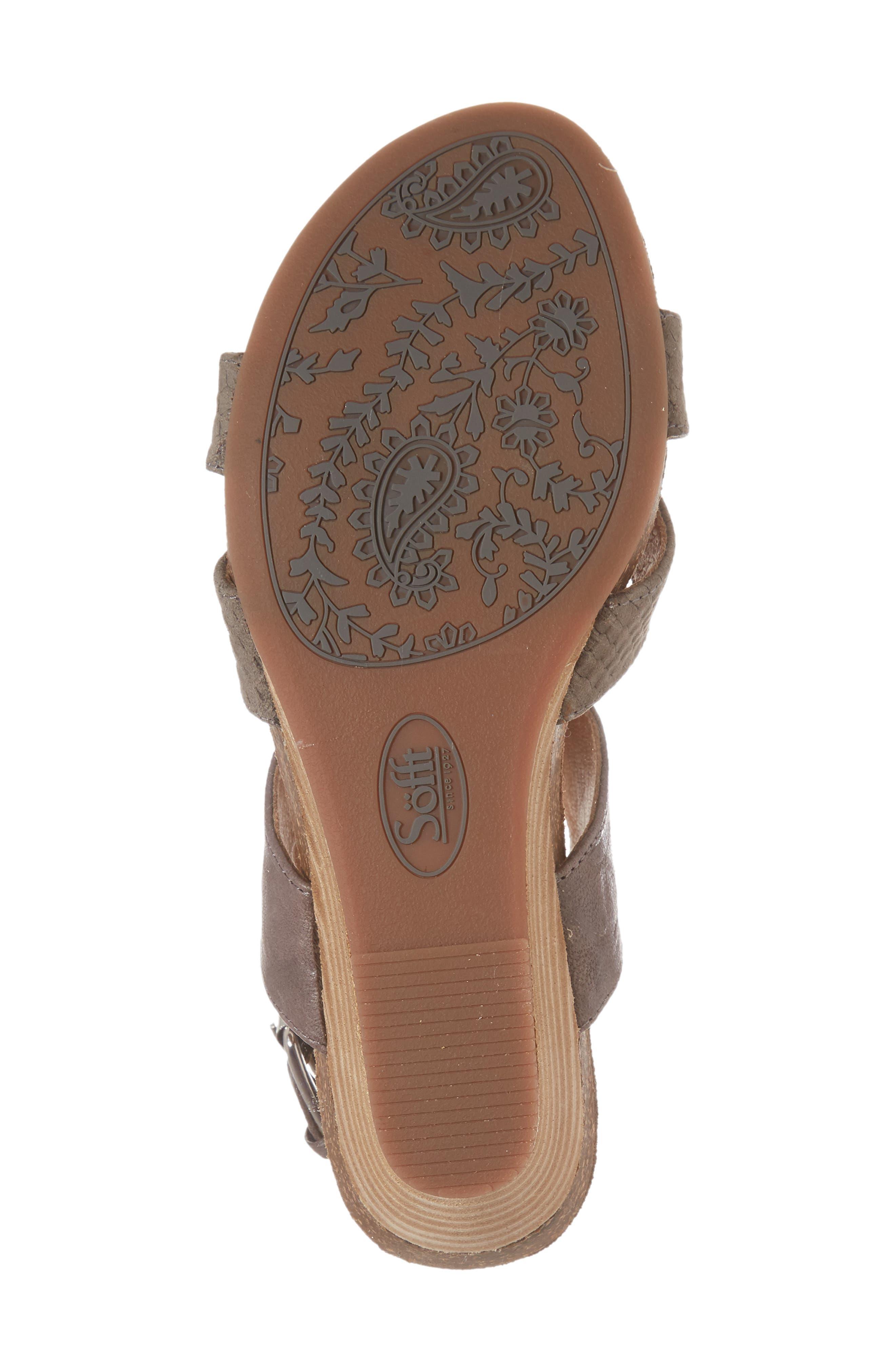 Velden Wedge Sandal,                             Alternate thumbnail 17, color,