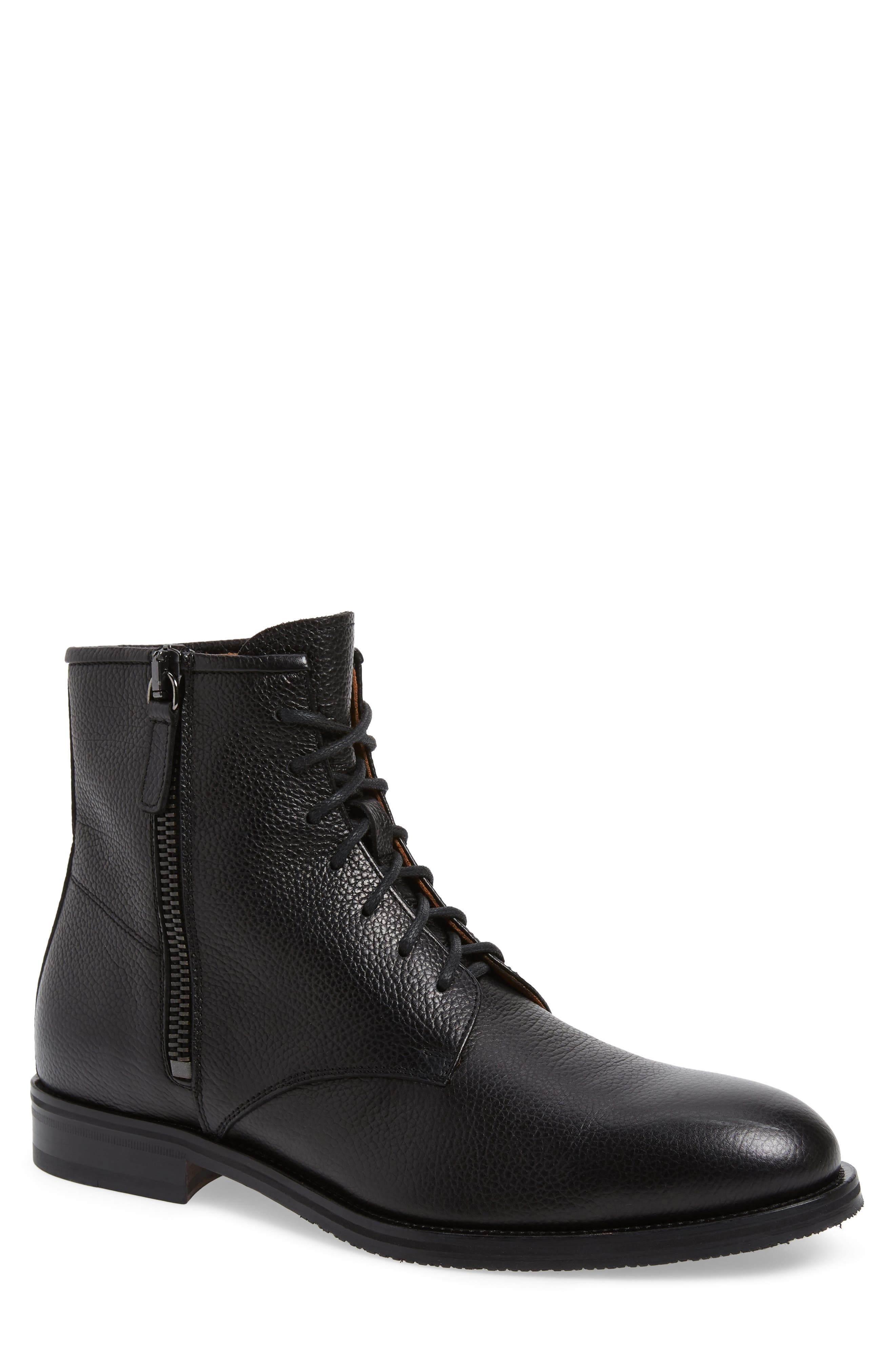 Aquatalia Vladimir Weatherproof Boot- Black