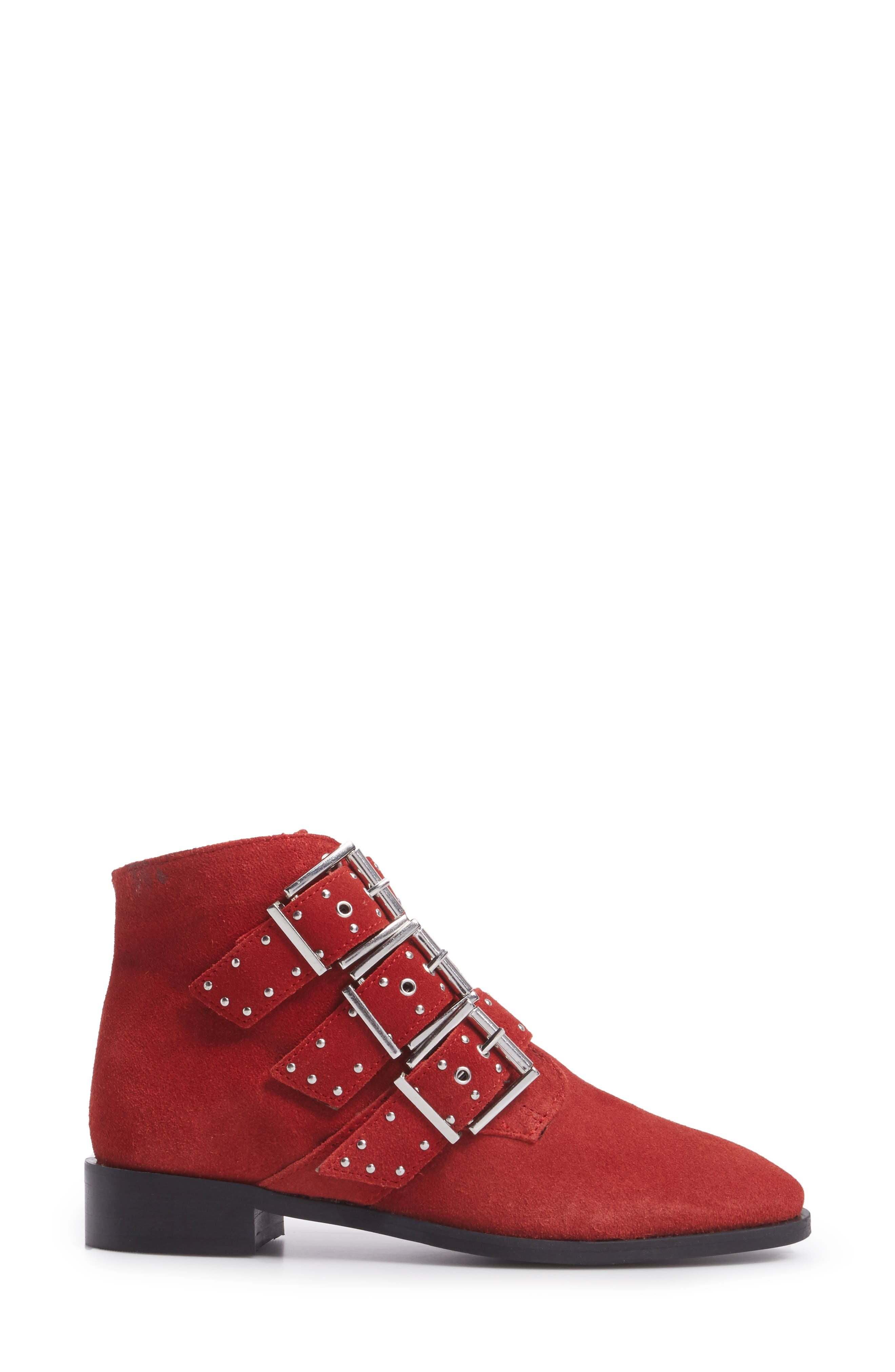 Krown Studded Bootie,                             Alternate thumbnail 6, color,