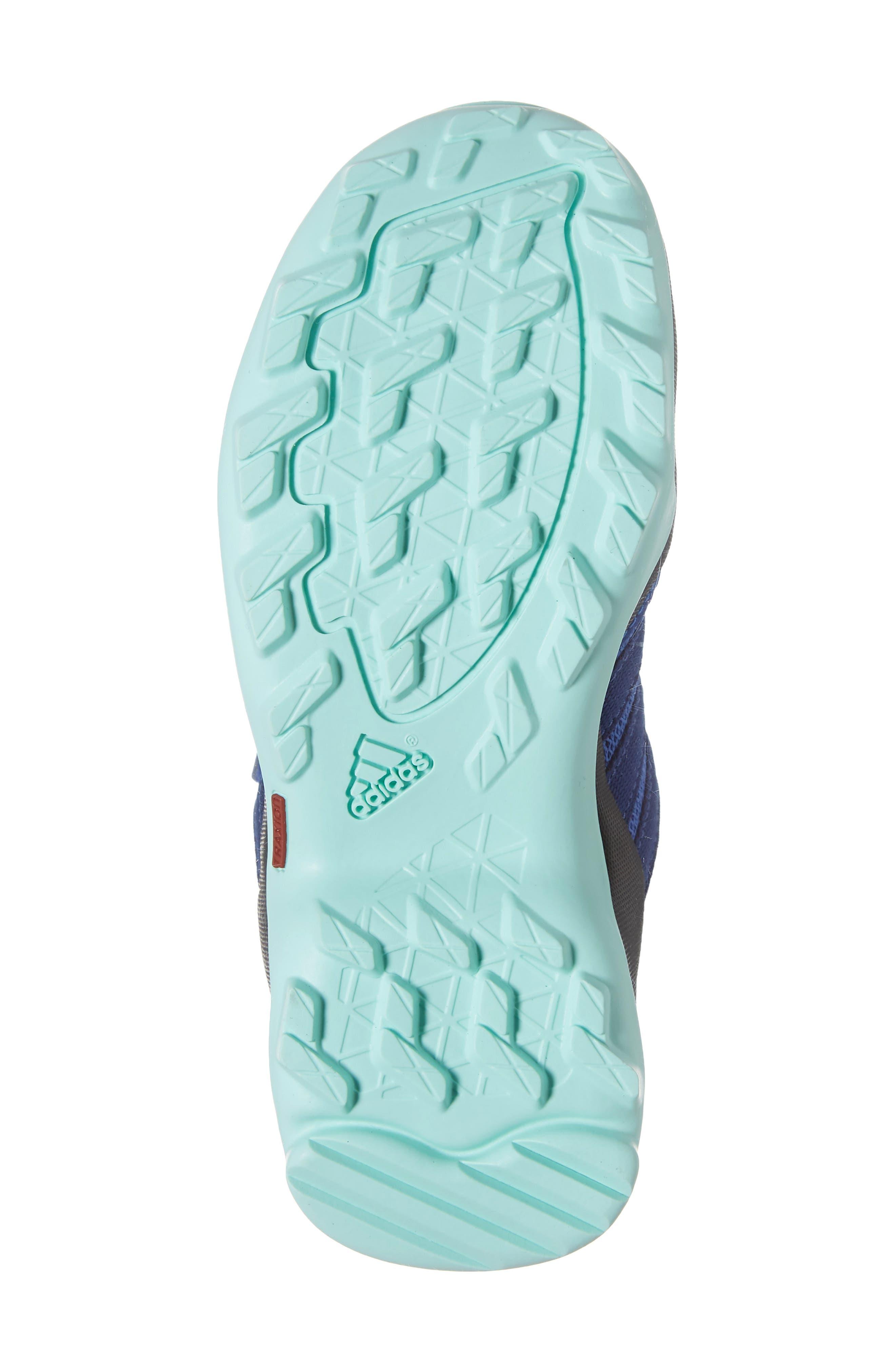 Terrex AX2R Sneaker,                             Alternate thumbnail 6, color,                             HI-RES BLUE/ MYSTERY INK/ MINT