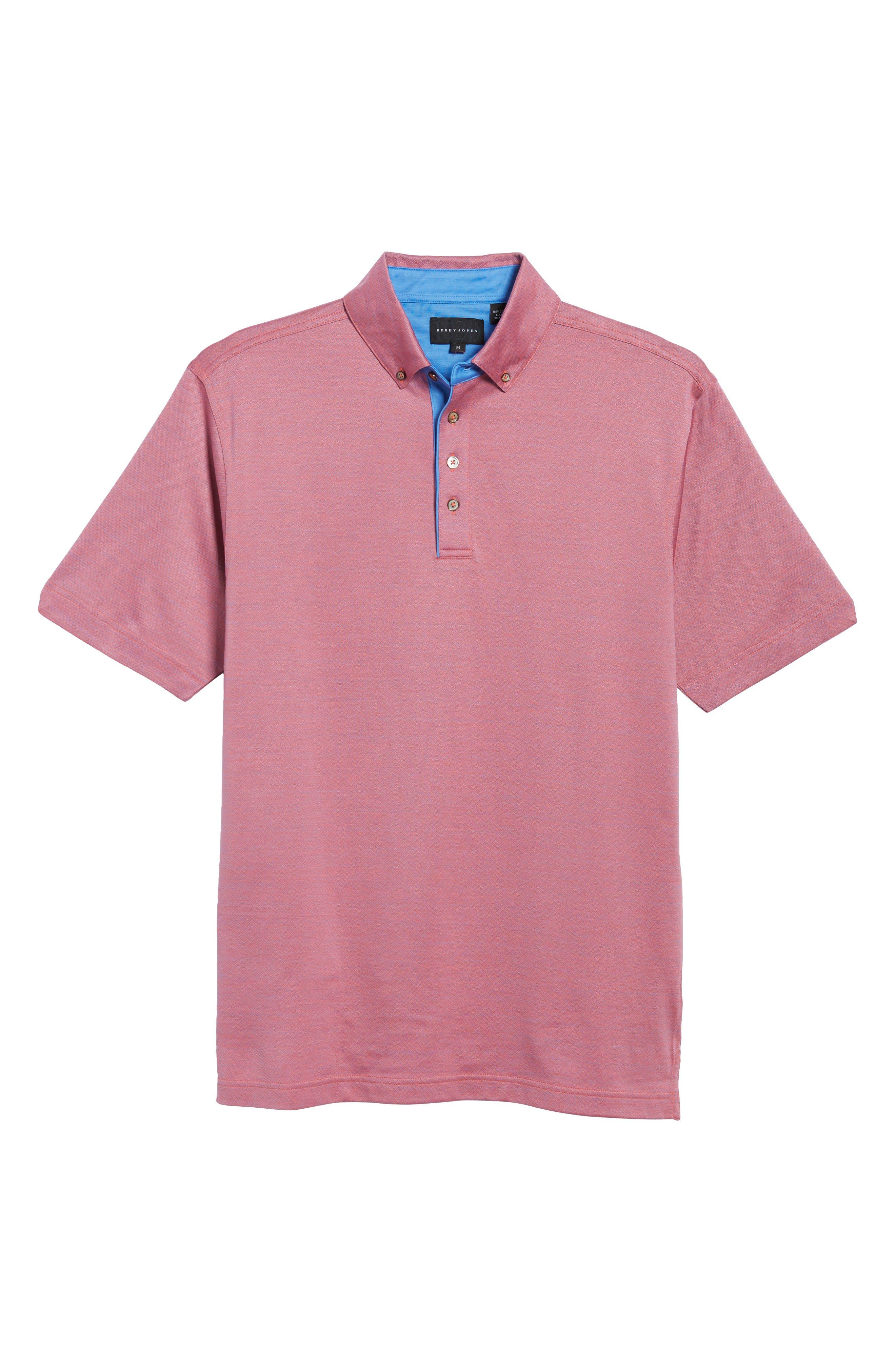 Mercerized Cotton Jacquard Polo,                             Alternate thumbnail 24, color,
