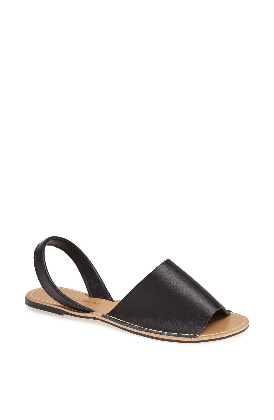 'Barca' Sandal, Main, color, 001