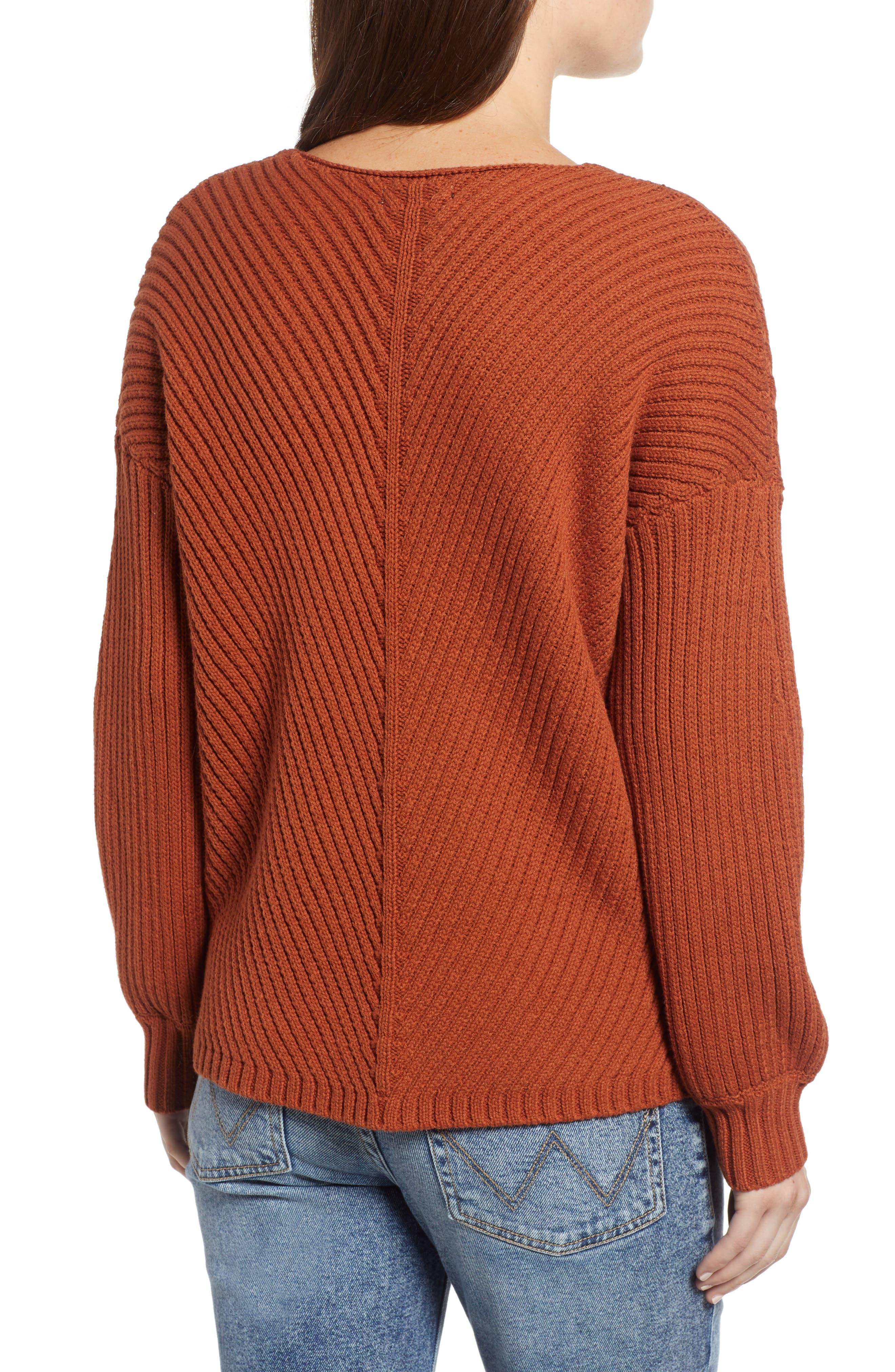 Eleanor Rib Knit Sweater,                             Alternate thumbnail 2, color,                             200