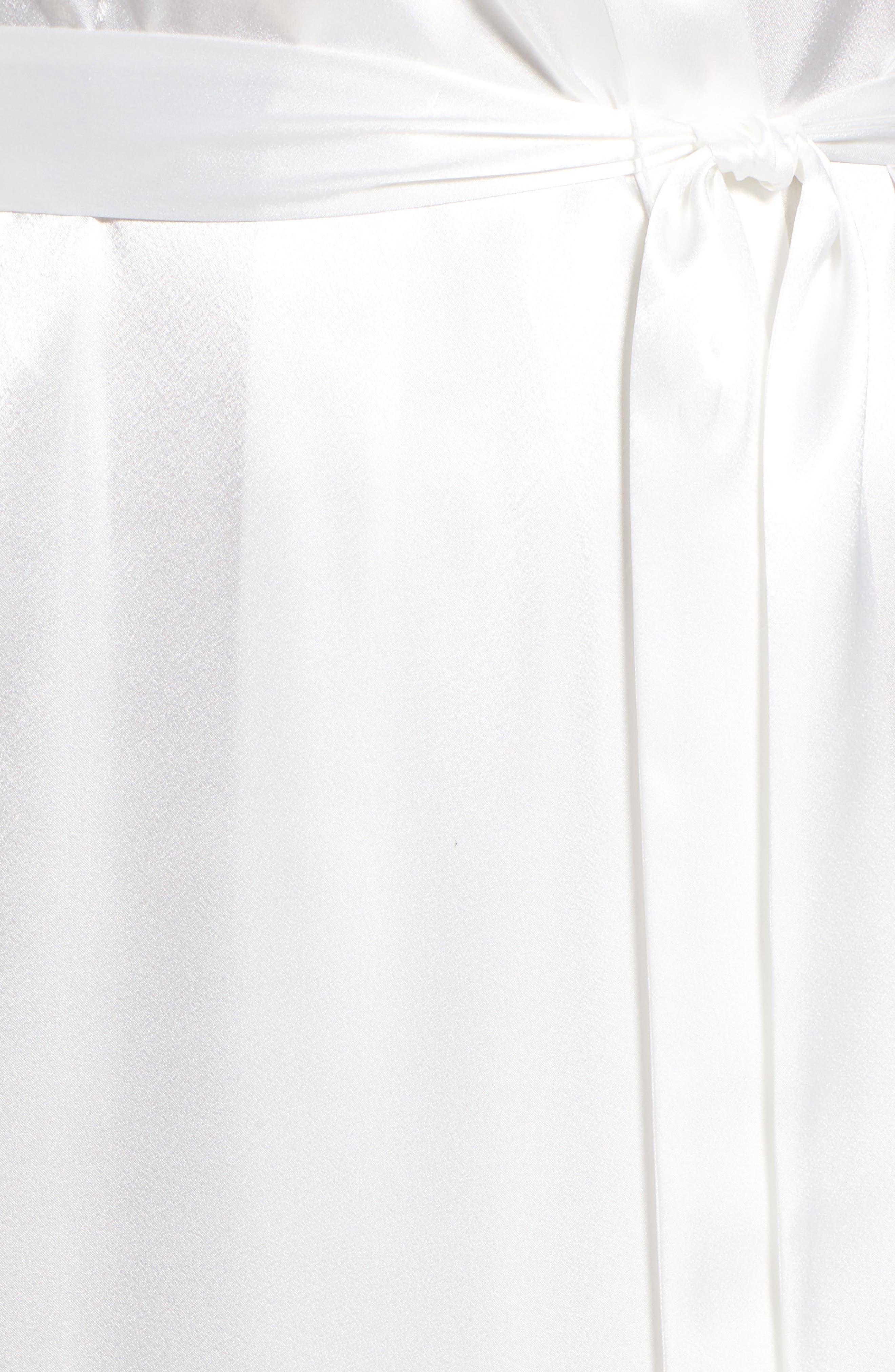 Sleepwear Charmeuse Robe,                             Alternate thumbnail 5, color,                             178