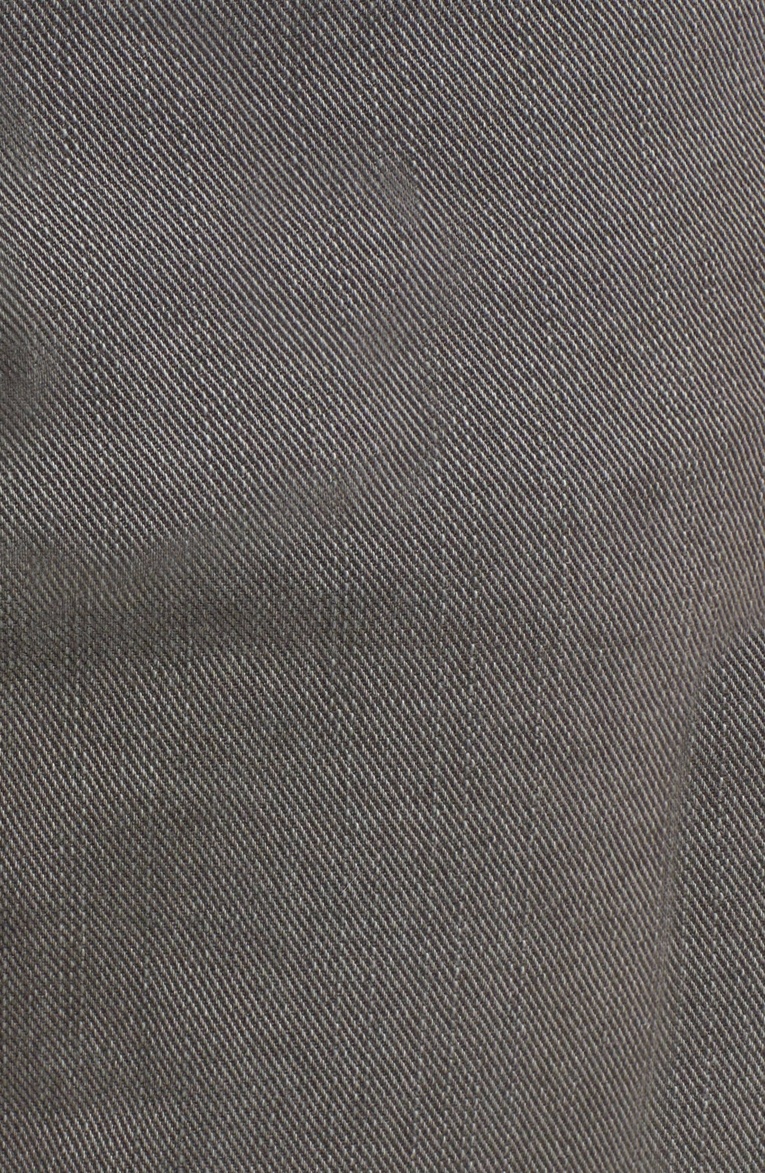 Regent Relaxed Fit Jeans,                             Alternate thumbnail 5, color,                             GUNMETAL