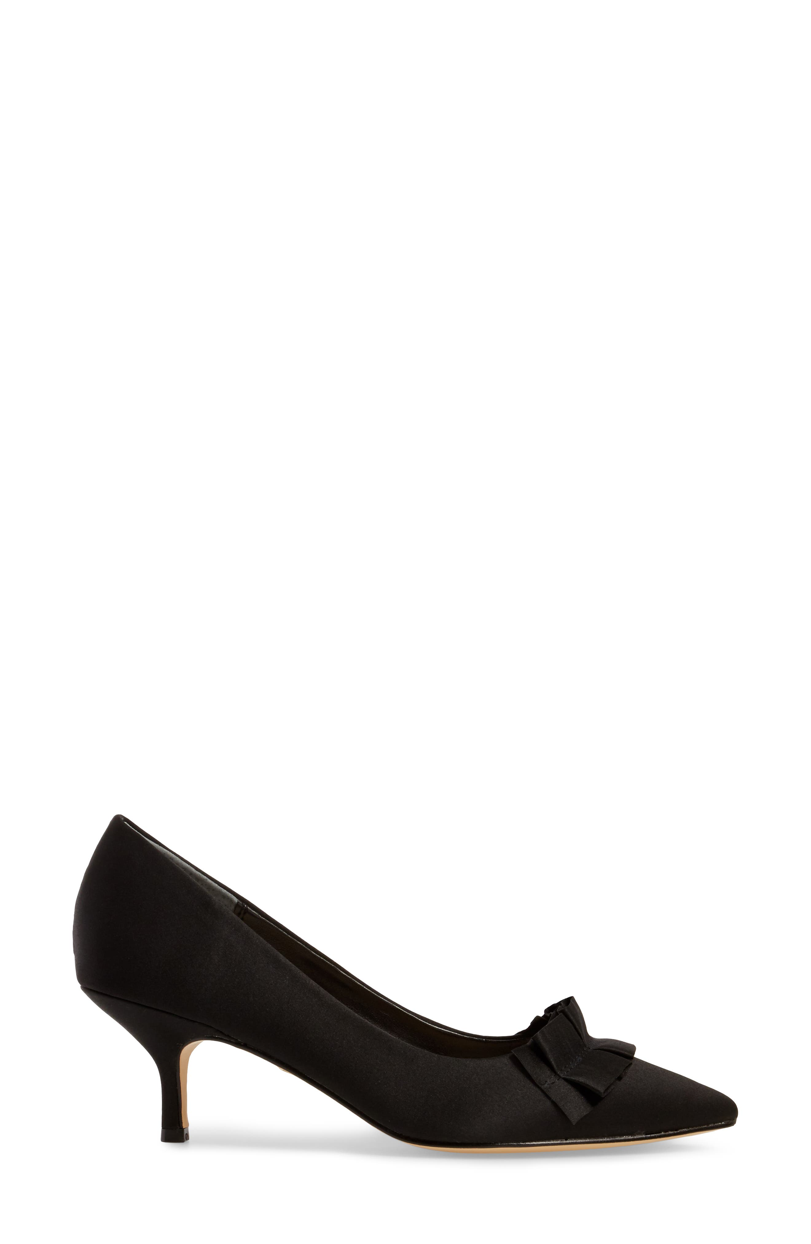 Thea Pointy Toe Pump,                             Alternate thumbnail 3, color,                             003
