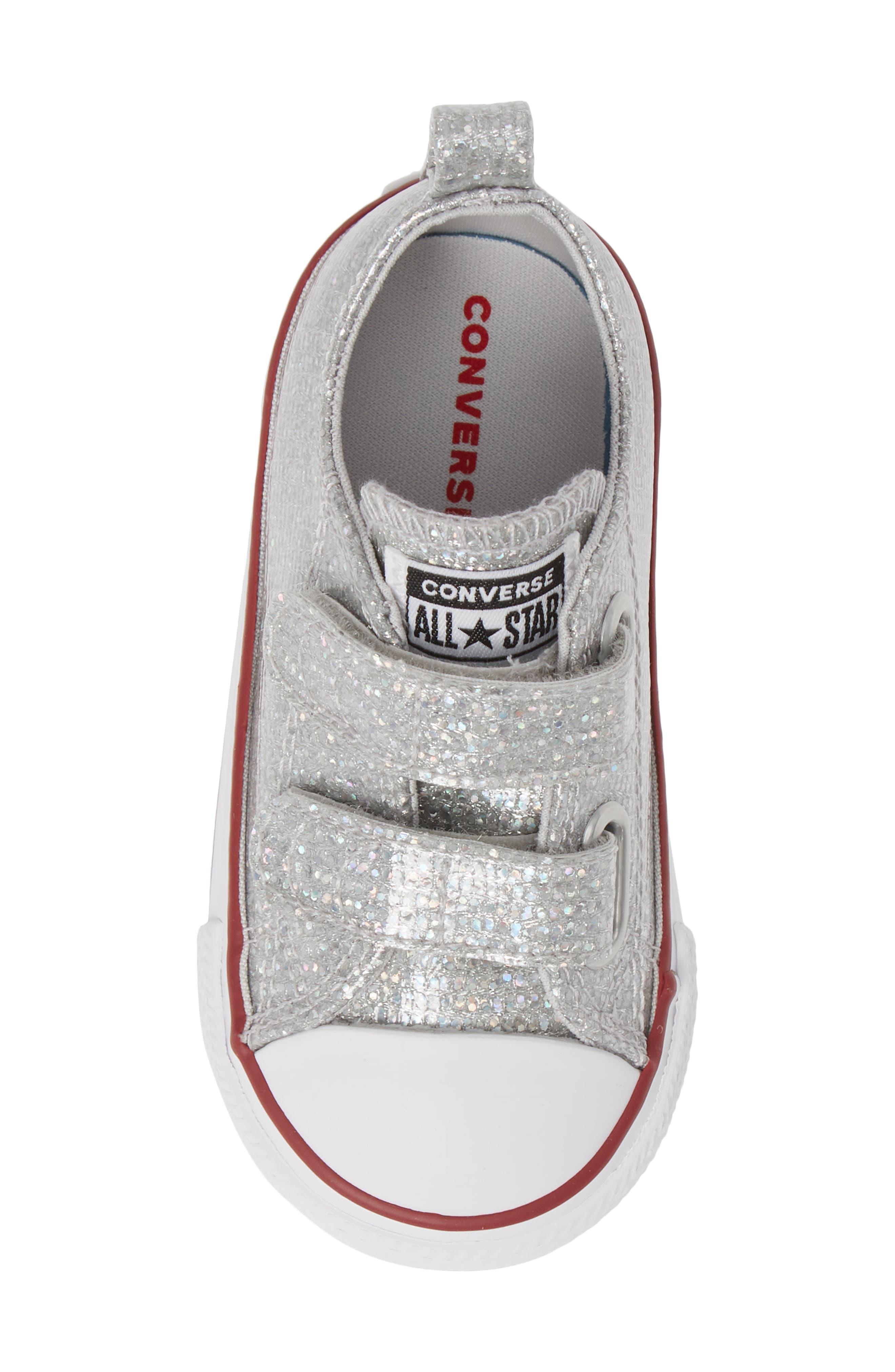 All Star<sup>®</sup> Seasonal Glitter Sneaker,                             Alternate thumbnail 5, color,                             050