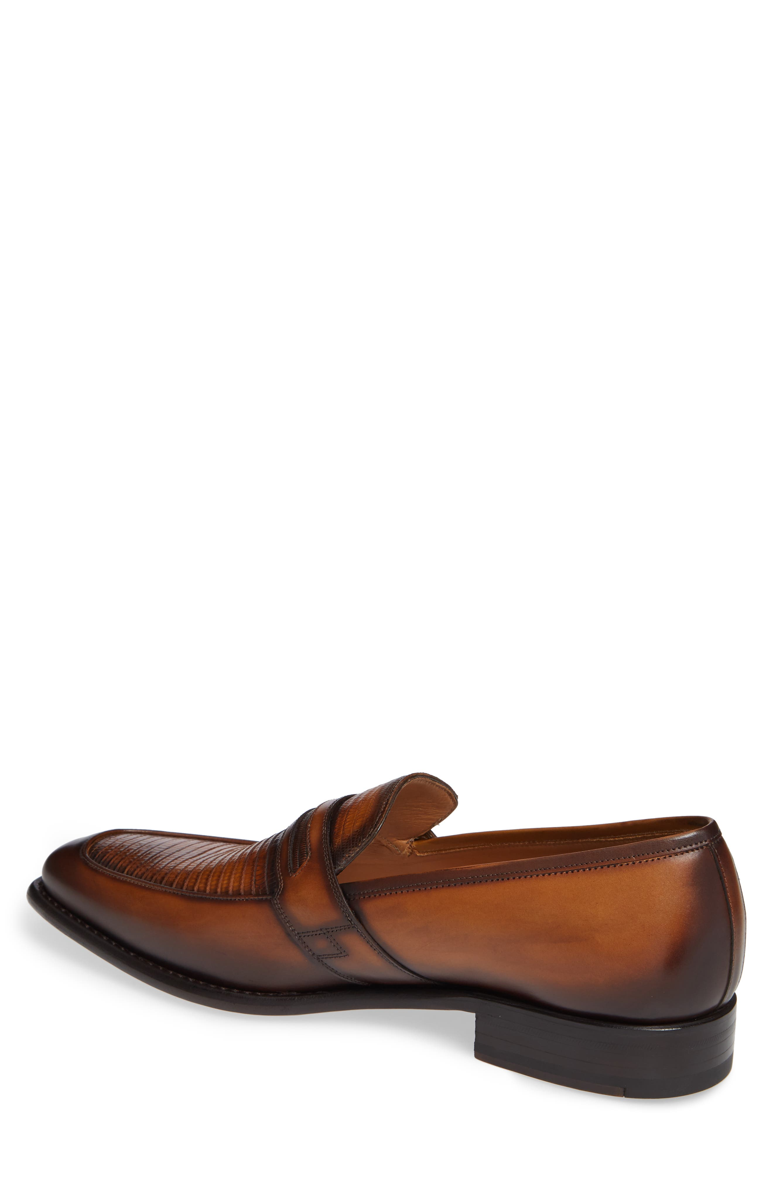 Hess Penny Loafer,                             Alternate thumbnail 2, color,                             HONEY LEATHER