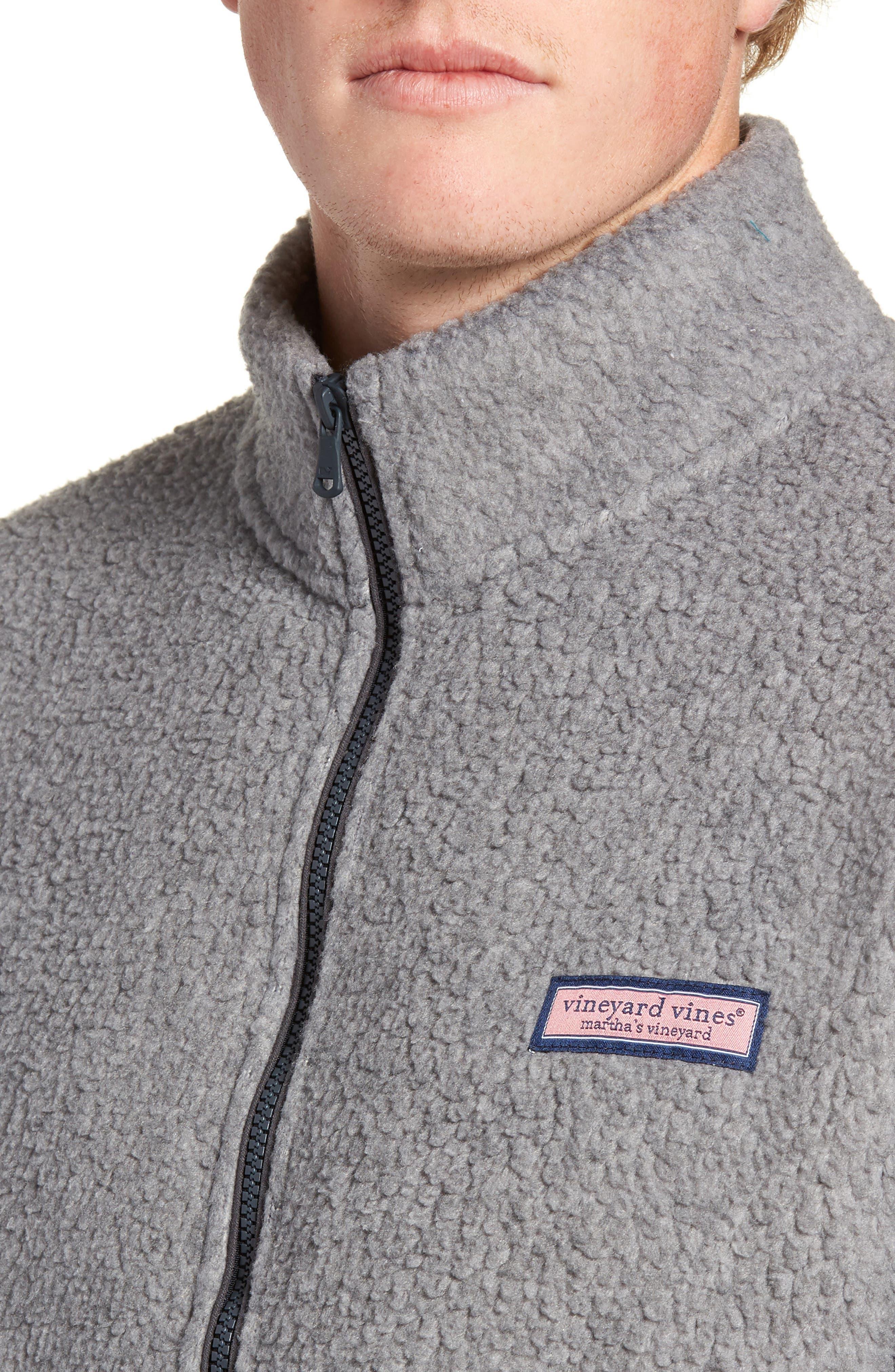 Fleece Quarter Zip Pullover,                             Alternate thumbnail 4, color,                             020