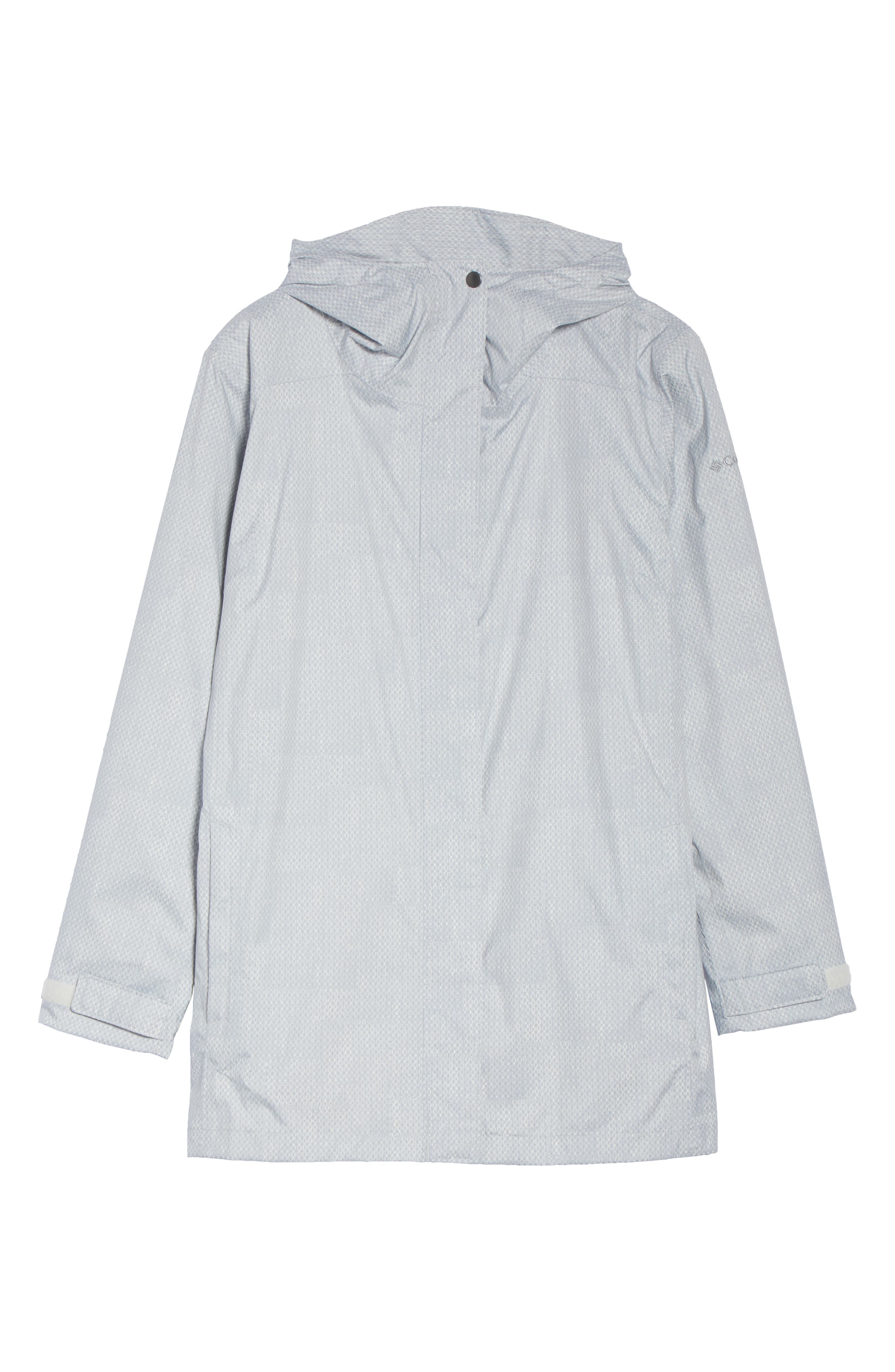 Splash a Little II Waterproof Rain Jacket,                             Alternate thumbnail 6, color,                             050