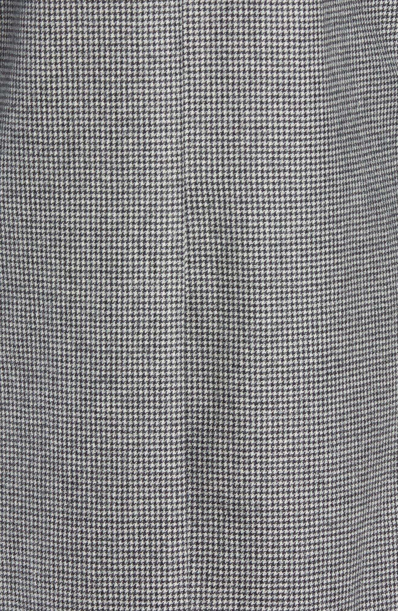 Wool Top Coat,                             Alternate thumbnail 6, color,                             GREY