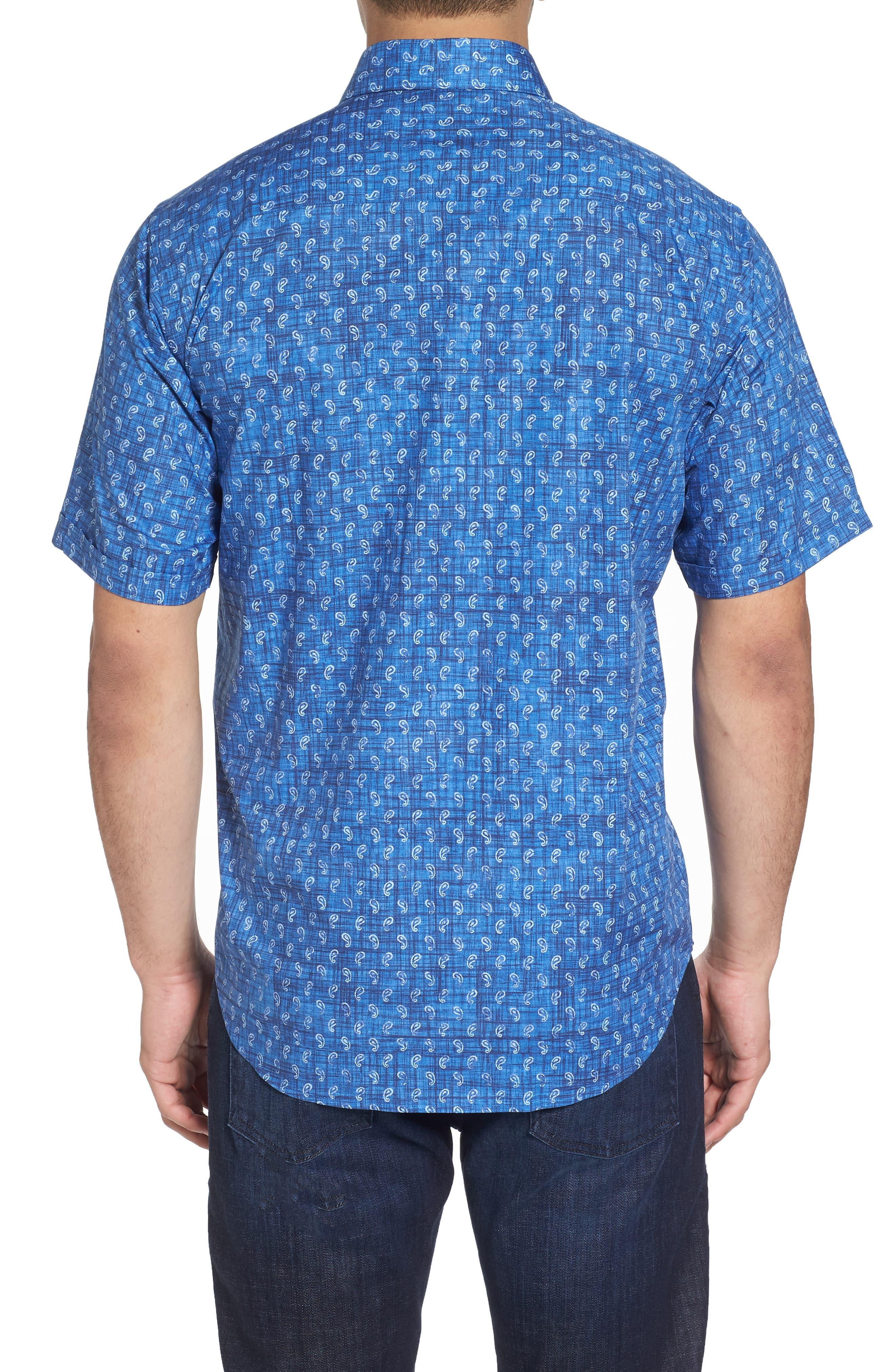 Classic Fit Paisley Sport Shirt,                             Alternate thumbnail 2, color,                             419