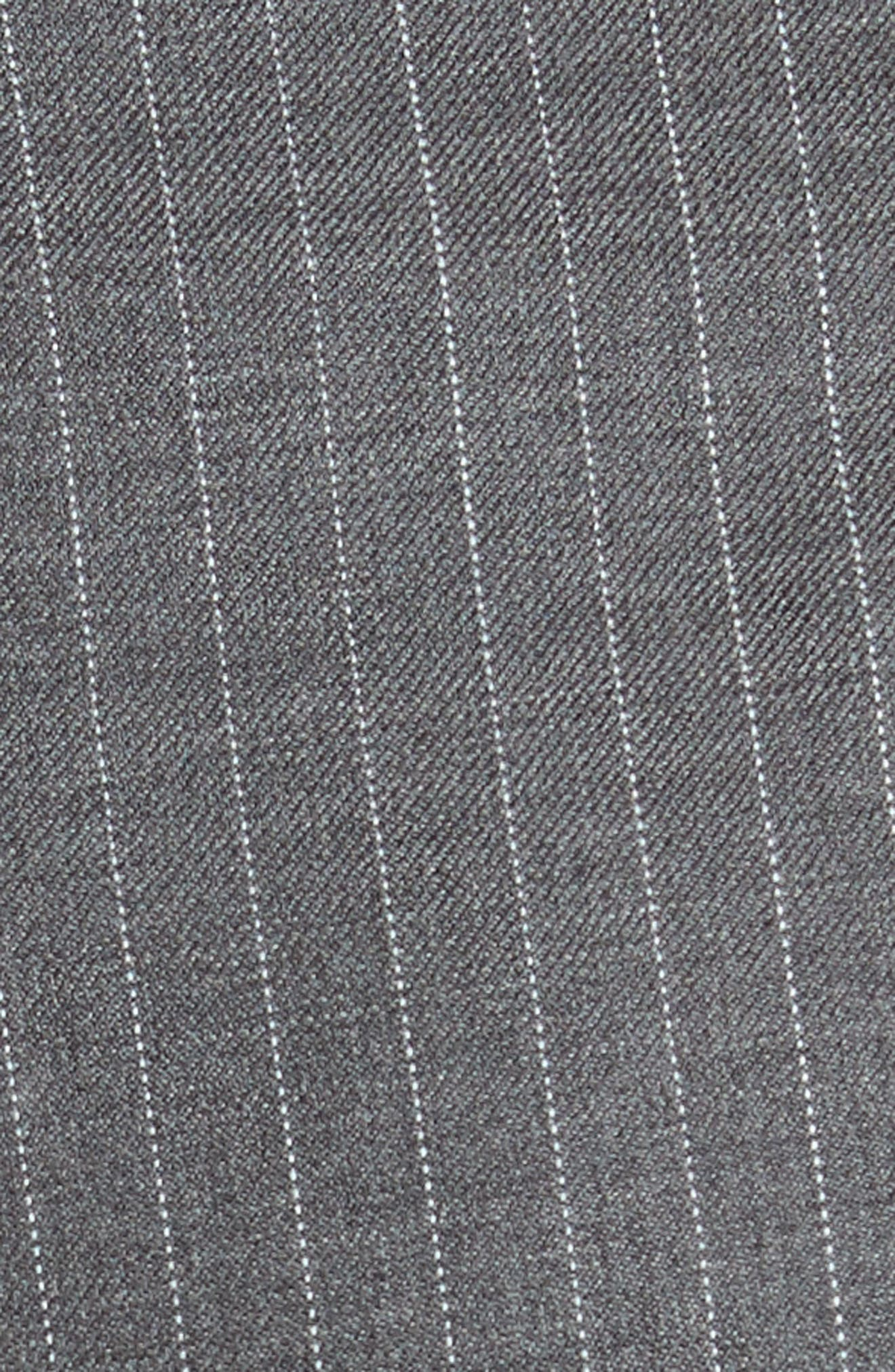 Garibo Stretch Wool Pinstripe Pants,                             Alternate thumbnail 5, color,                             034