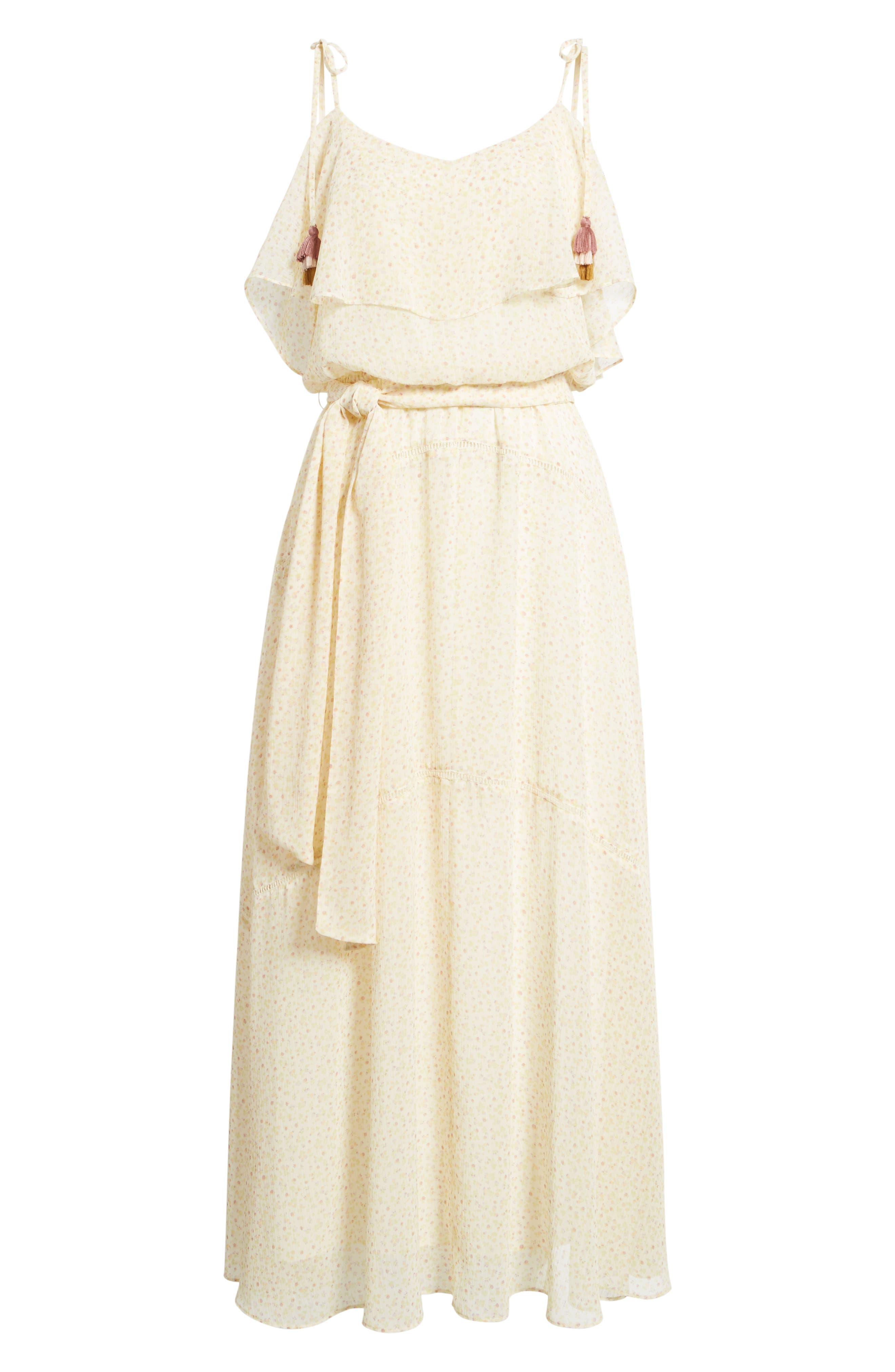 Decklan Maxi Dress,                             Alternate thumbnail 6, color,                             900