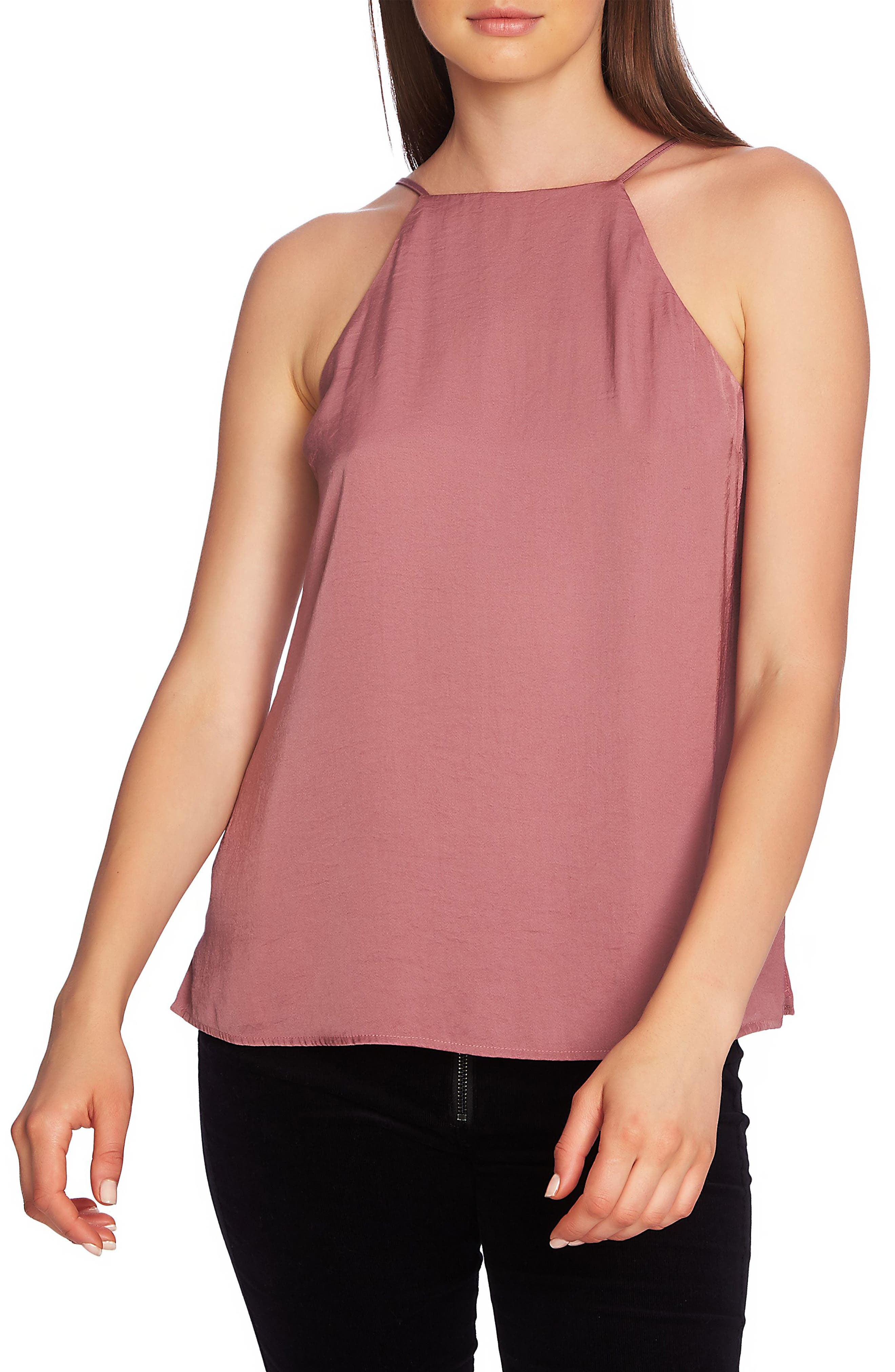 1.state High Neck Camisole, Pink