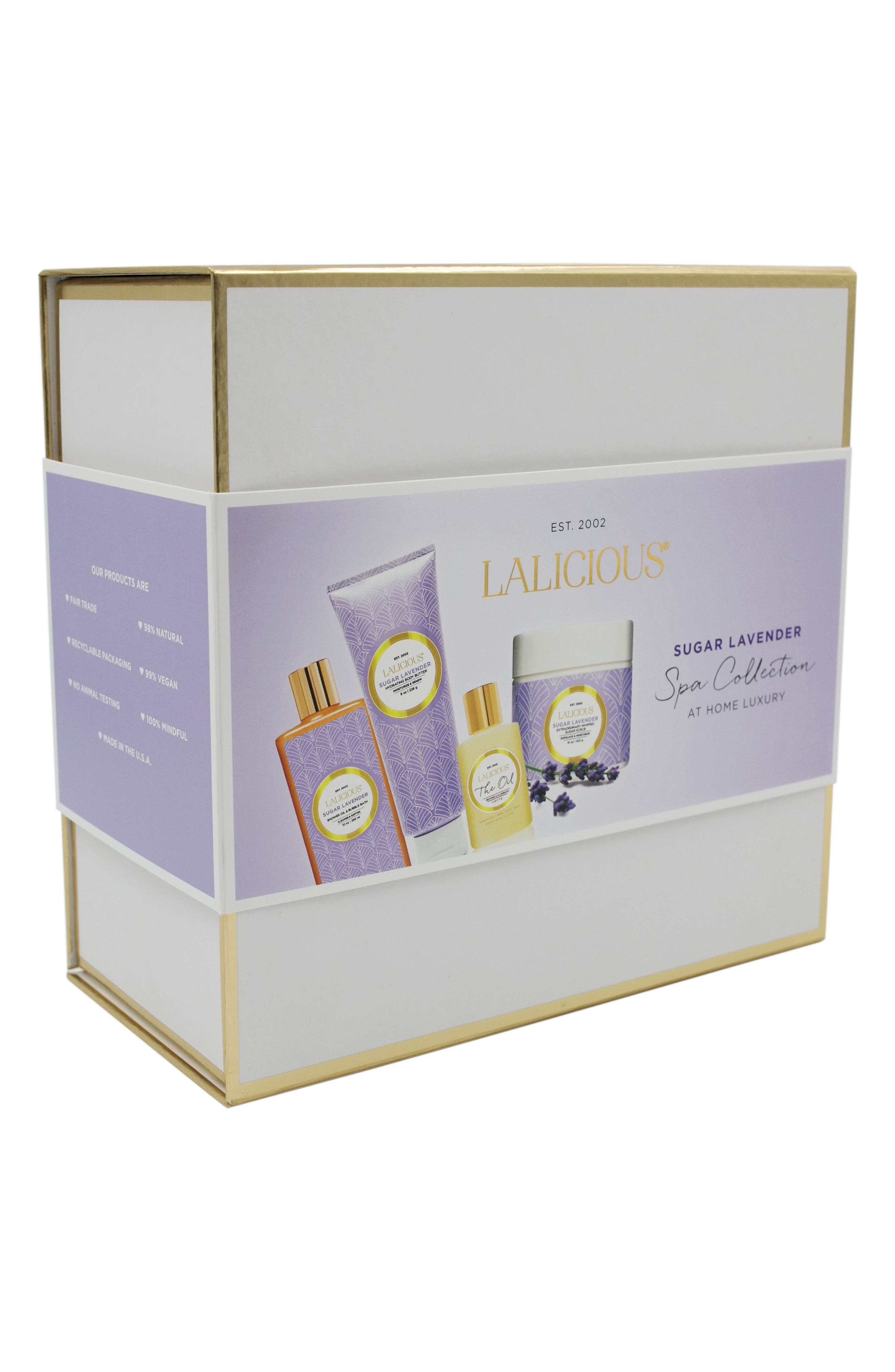 Sugar Lavender At Home Spa Collection,                             Alternate thumbnail 2, color,                             000