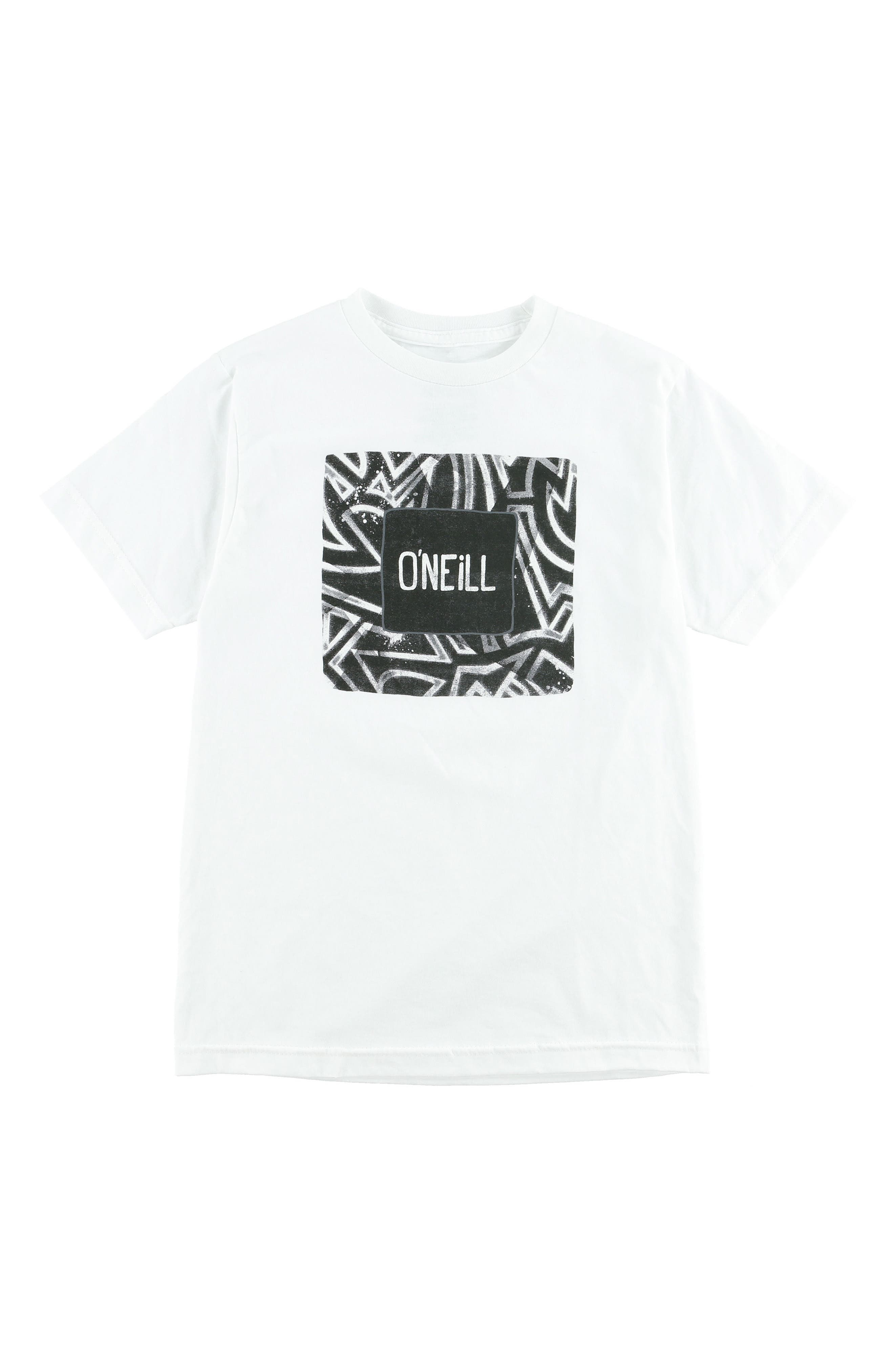 O'NEILL,                             Freak Zone Graphic T-Shirt,                             Main thumbnail 1, color,                             100