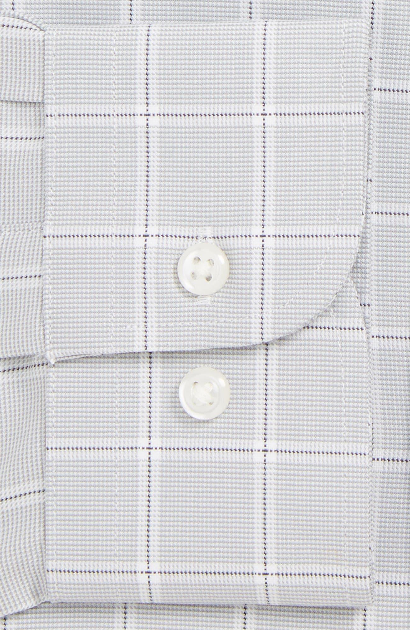 NORDSTROM MEN'S SHOP,                             Tech-Smart Classic Fit Stretch Check Dress Shirt,                             Alternate thumbnail 2, color,                             050