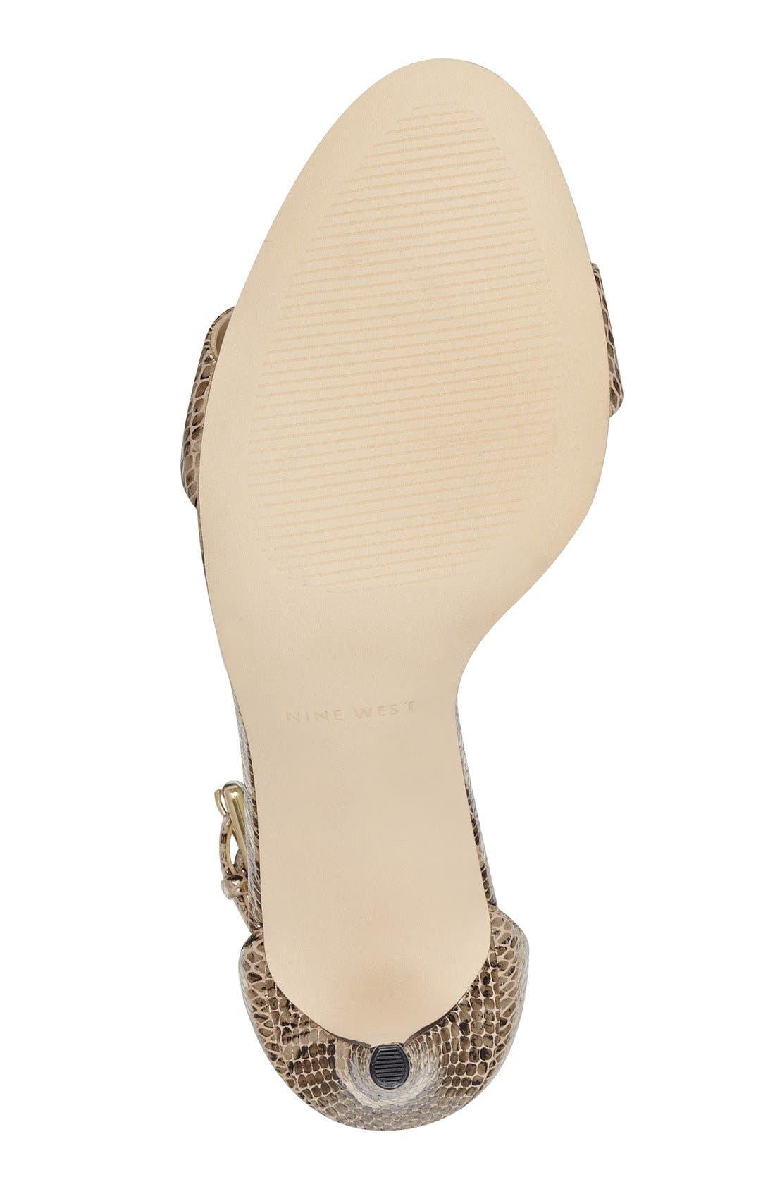 'Mana' Ankle Strap Sandal,                             Alternate thumbnail 24, color,