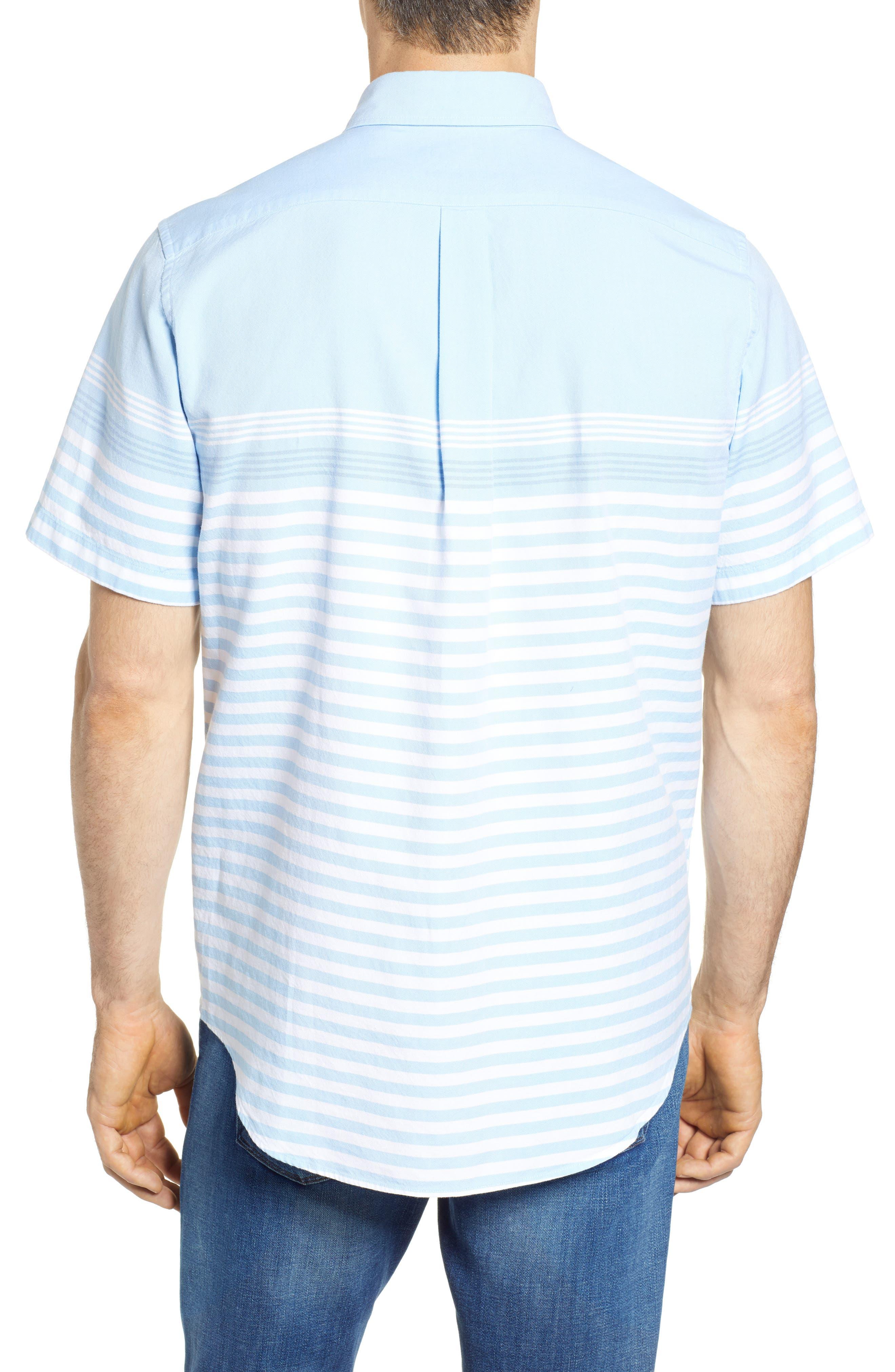 Sea Mist Stretch Short Sleeve Sport Shirt,                             Alternate thumbnail 2, color,                             484