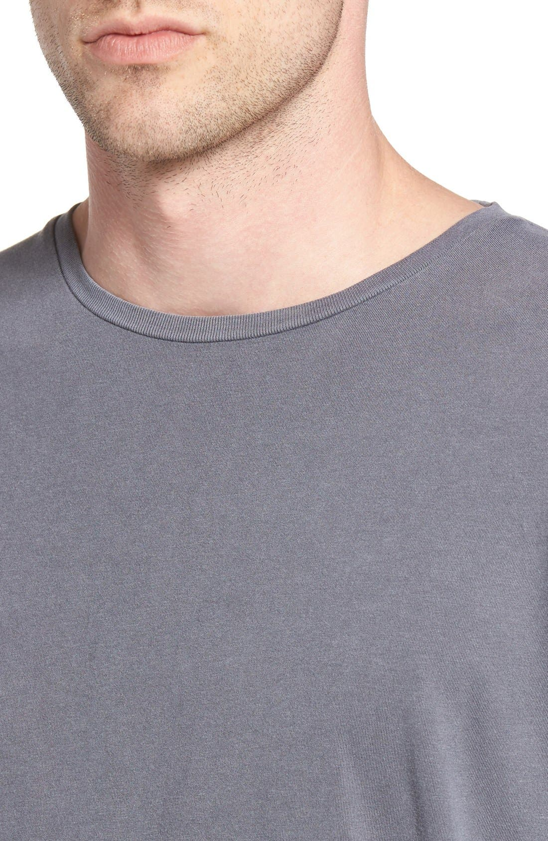 Flintlock Longline T-Shirt,                             Alternate thumbnail 8, color,                             029