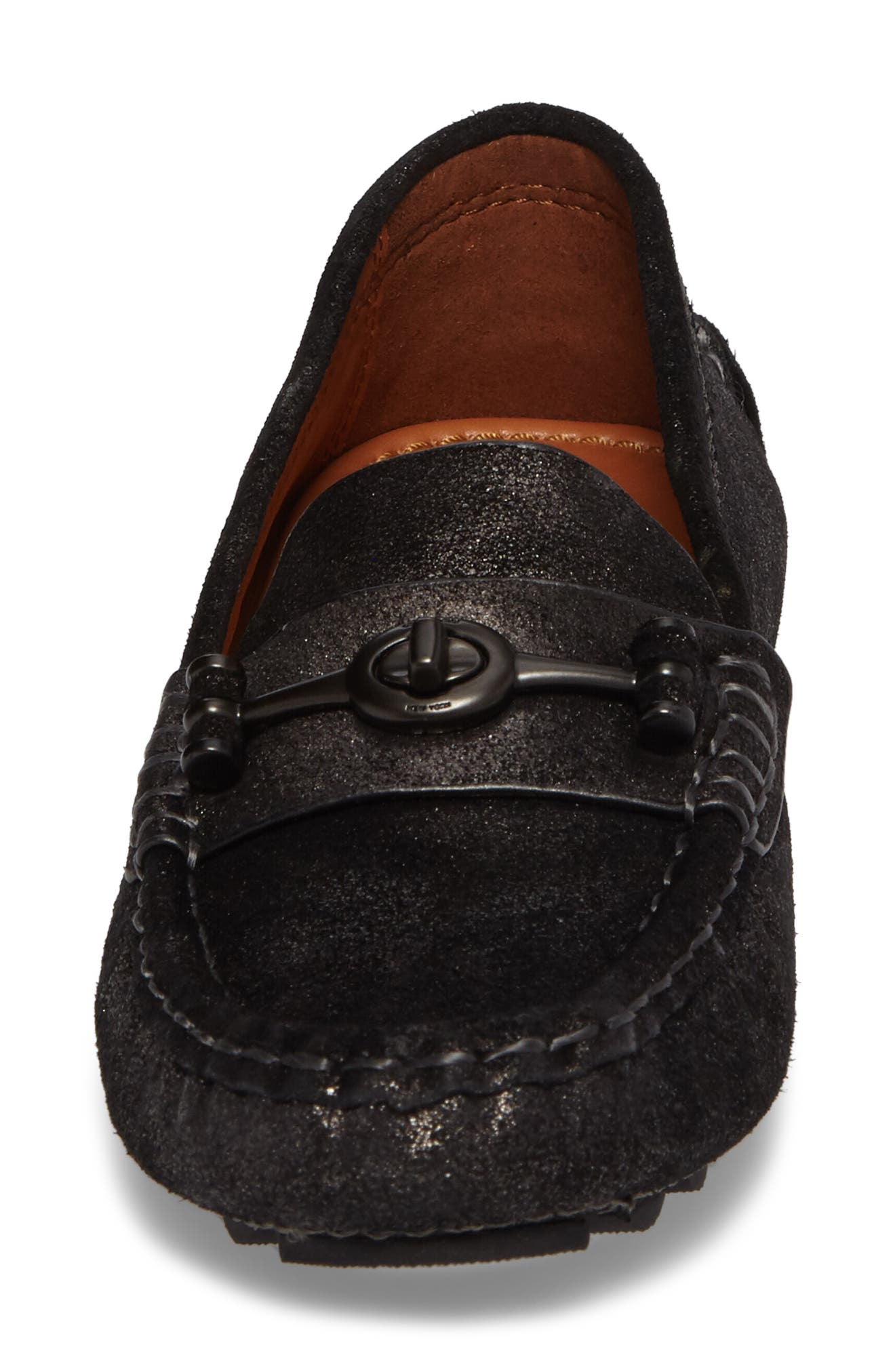 Crosby Driving Loafer,                             Alternate thumbnail 4, color,                             ANTHRACITE SUEDE