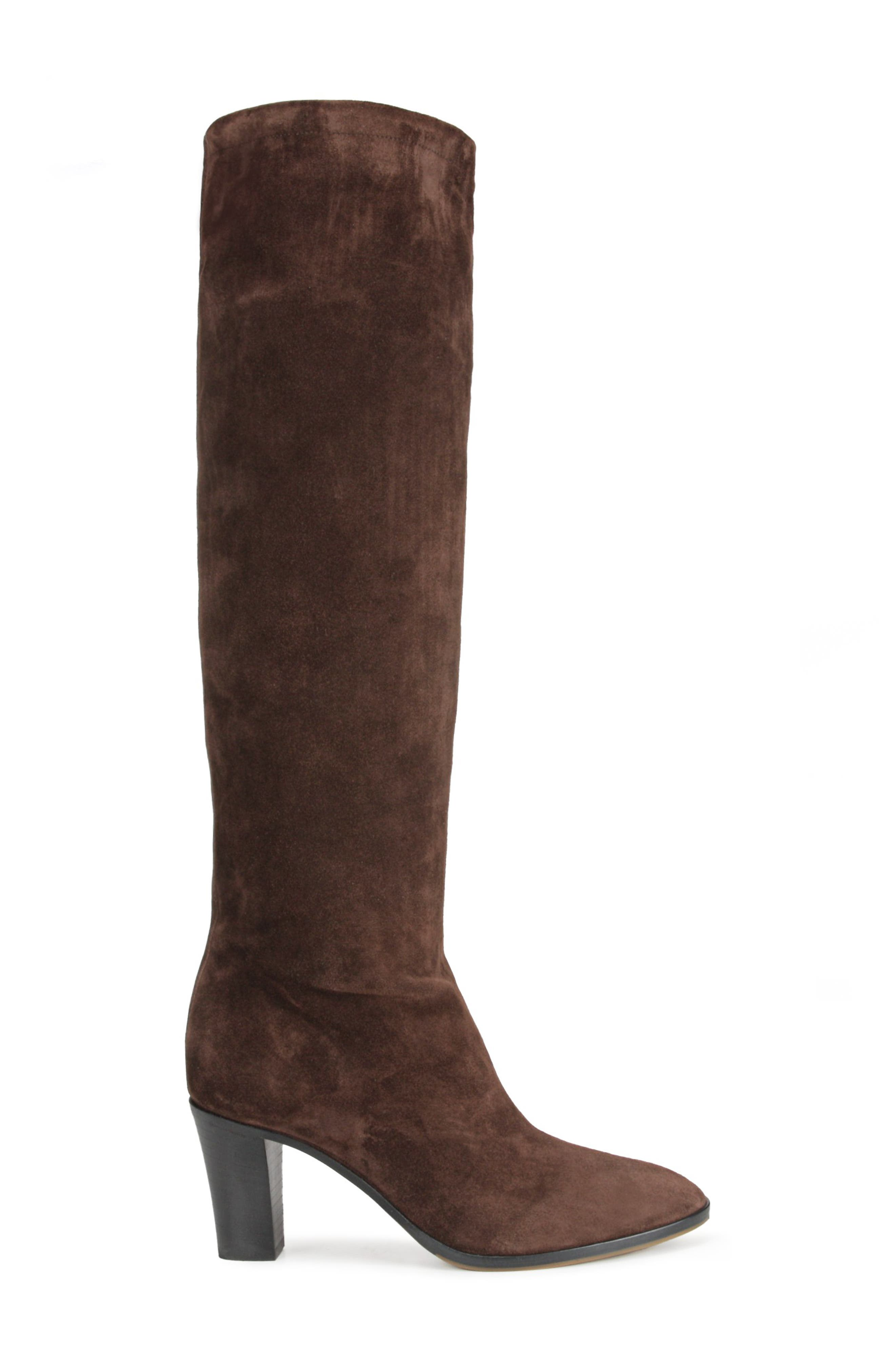 Casper Knee High Pull-On Boot,                             Alternate thumbnail 3, color,                             COTTO BROWN