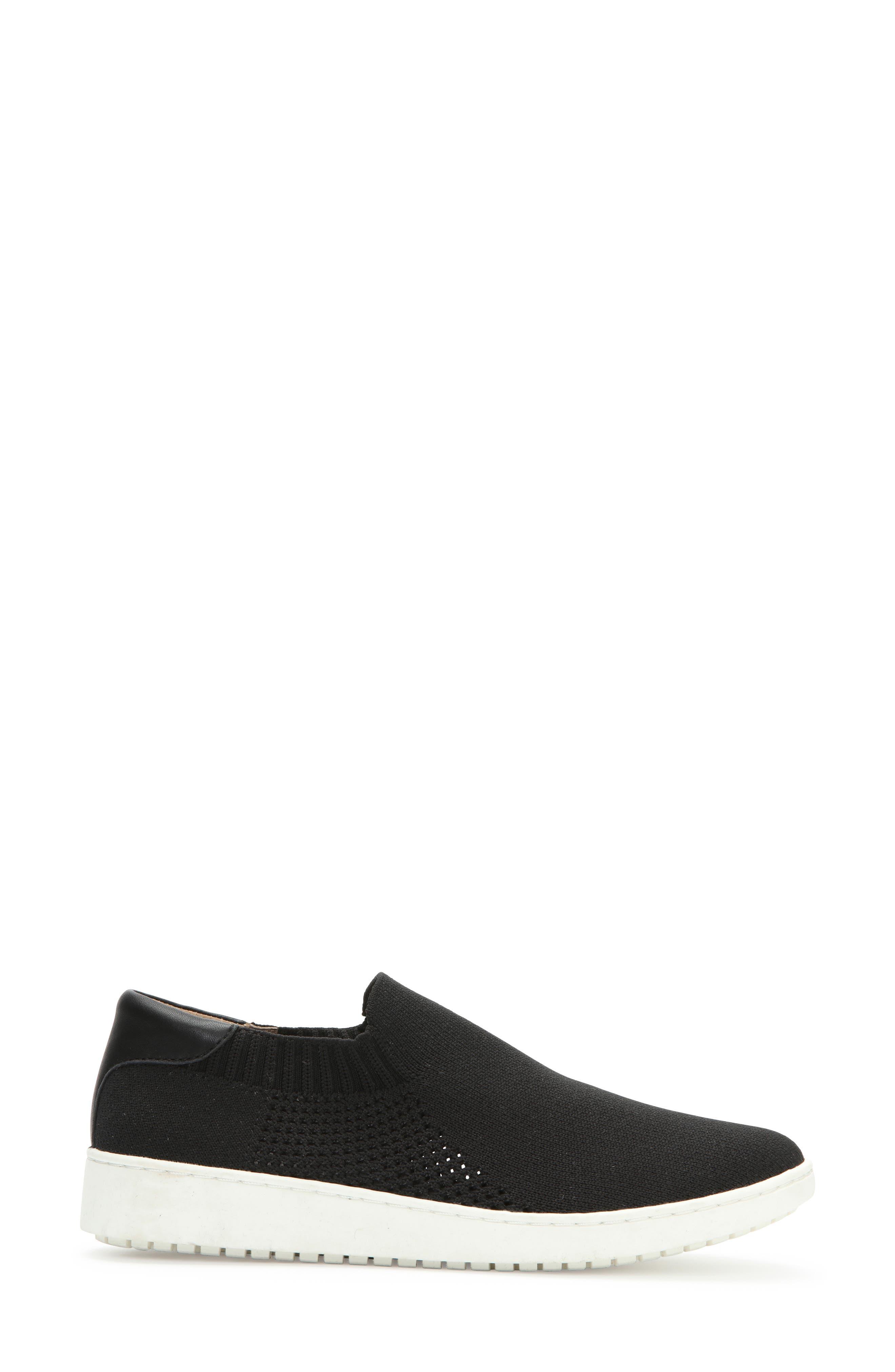 ADAM TUCKER BY ME TOO,                             Adam Tucker Romy Slip-On Sneaker,                             Alternate thumbnail 3, color,                             BLACK FABRIC