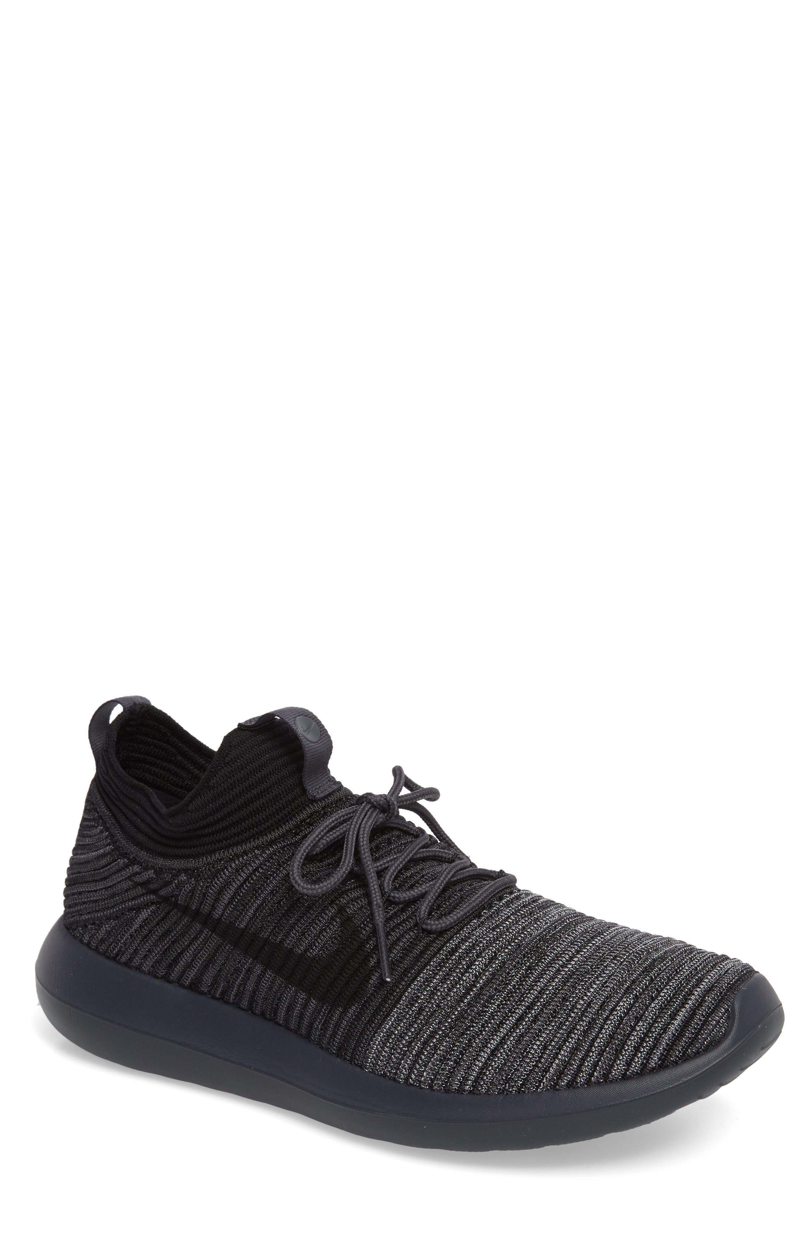 Roshe Two Flyknit V2 Sneaker,                             Main thumbnail 1, color,                             004