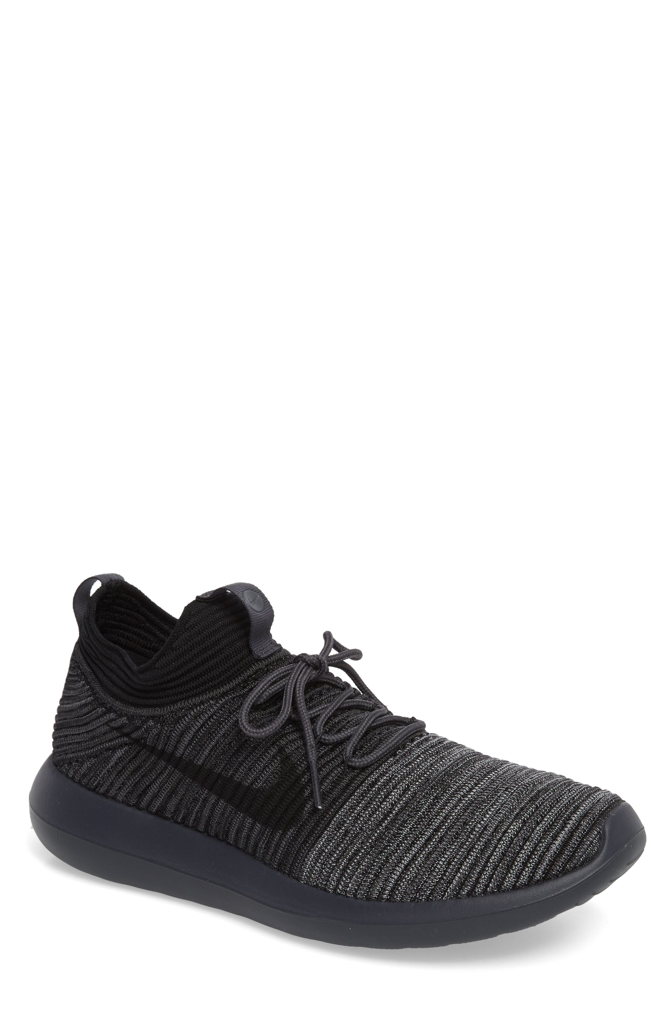 Roshe Two Flyknit V2 Sneaker,                         Main,                         color, 004