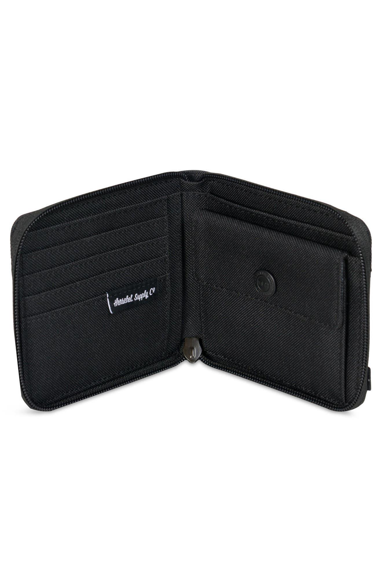 Walt RFID Zip Wallet,                             Alternate thumbnail 5, color,