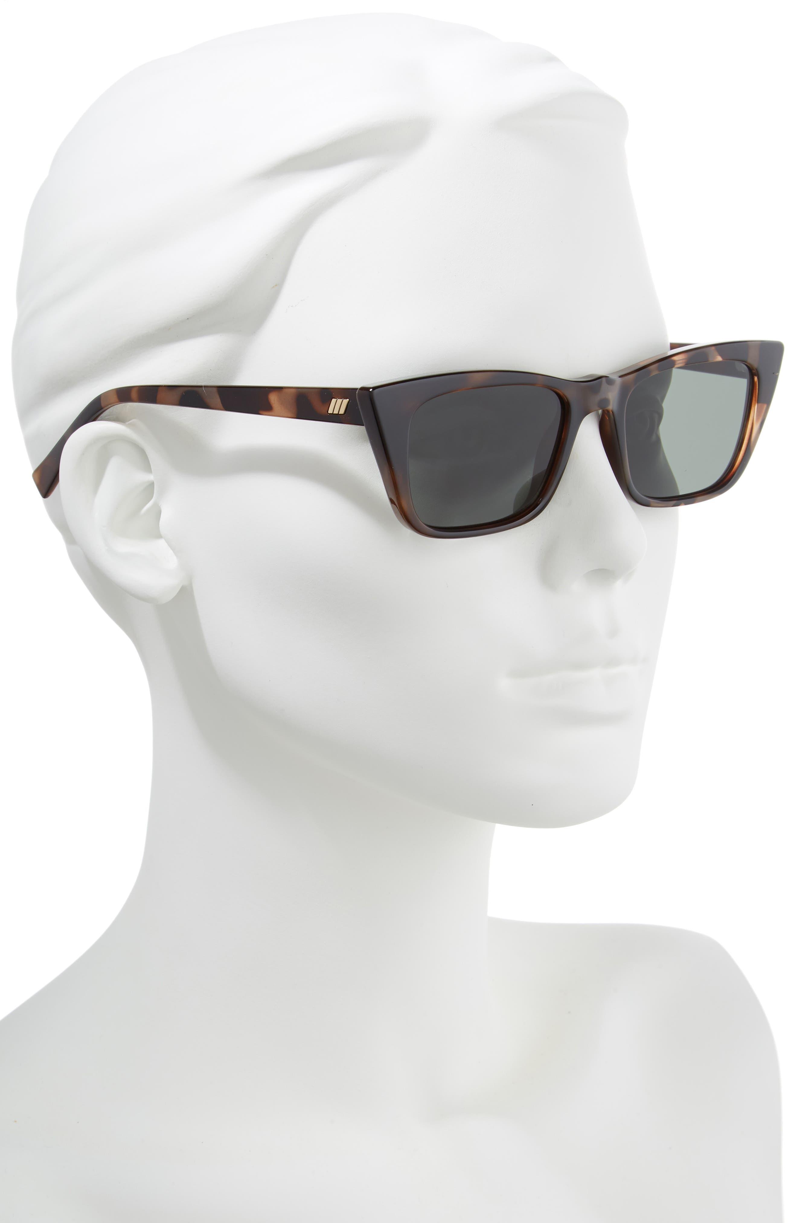 I Feel Love 51mm Cat Eye Sunglasses,                             Alternate thumbnail 2, color,                             VOLCANIC TORTOISE