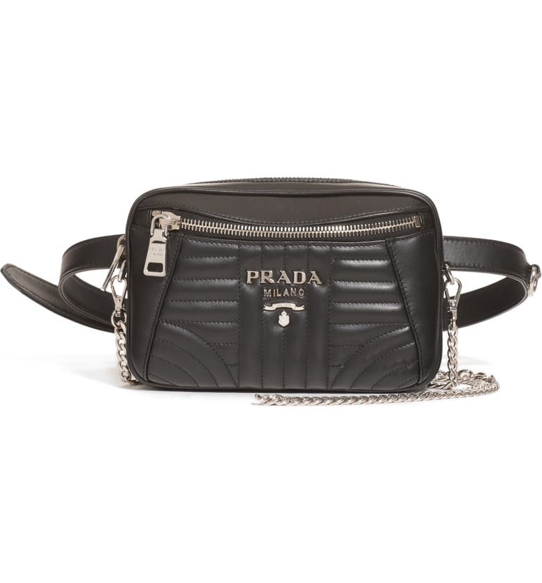 4241919c5e Prada Quilted Leather Convertible Belt Bag
