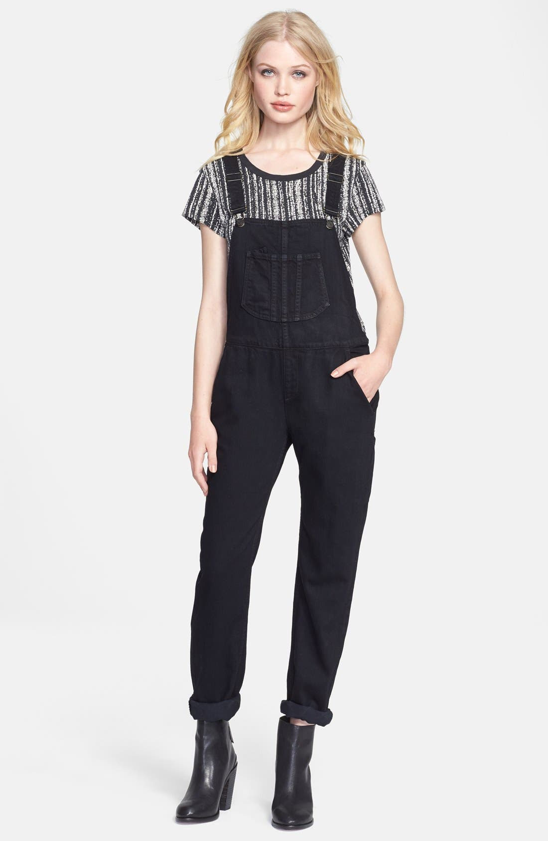 JEAN Overalls,                             Main thumbnail 1, color,                             005