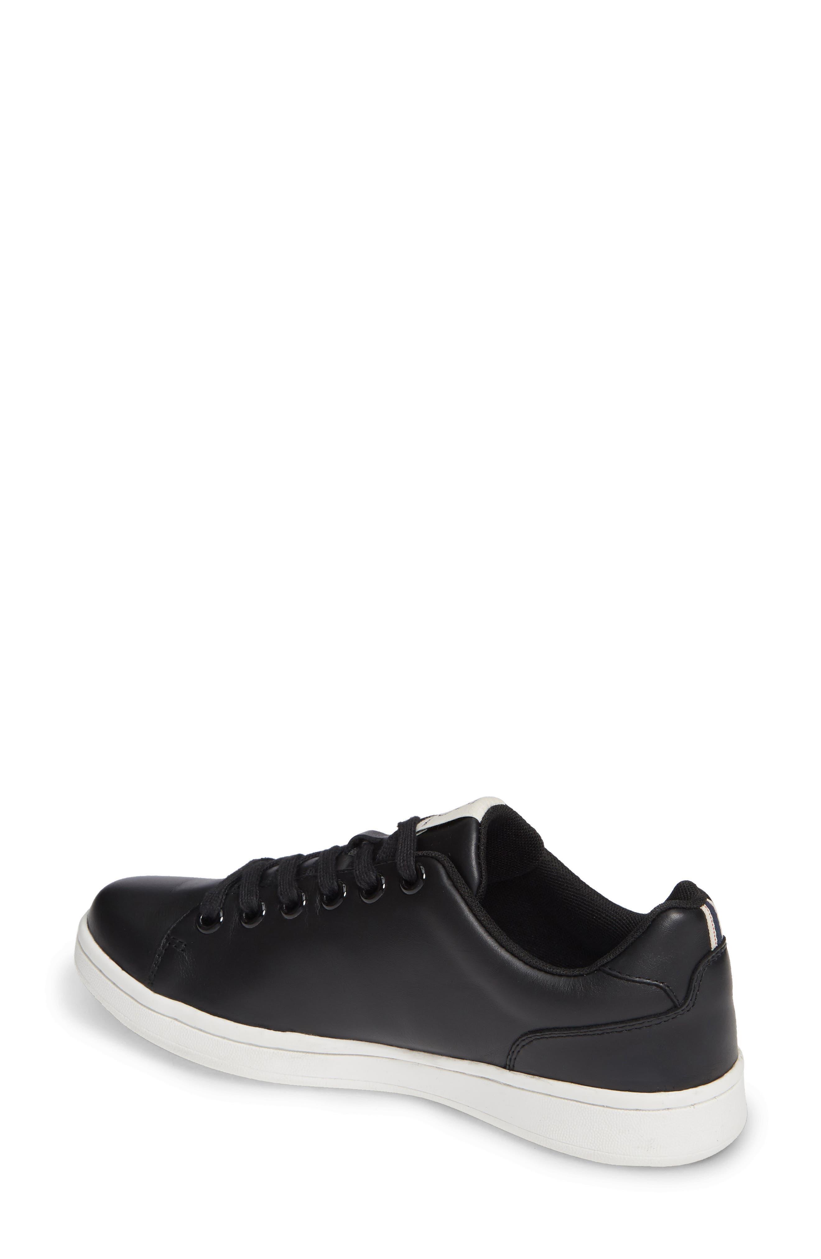 Chamour Sneaker,                             Alternate thumbnail 2, color,                             BLACK/ GOLD LEATHER