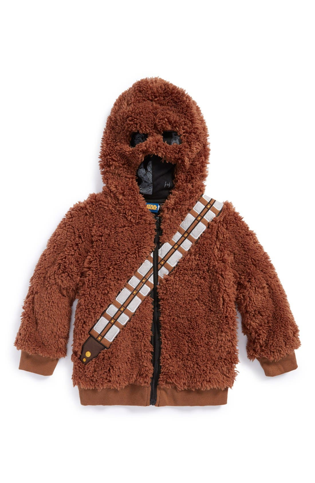'Star Wars<sup>™</sup> - Chewbacca' Hoodie, Main, color, 200