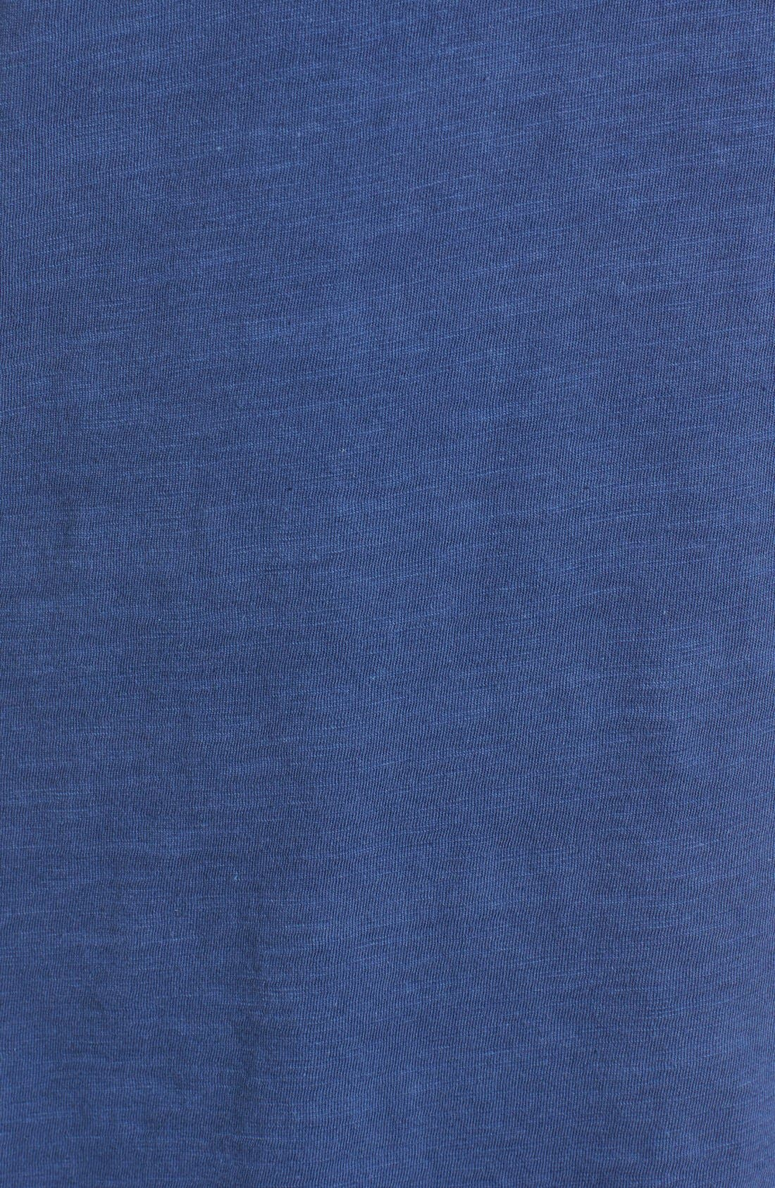 Organic Cotton V-Neck Tee,                             Alternate thumbnail 114, color,