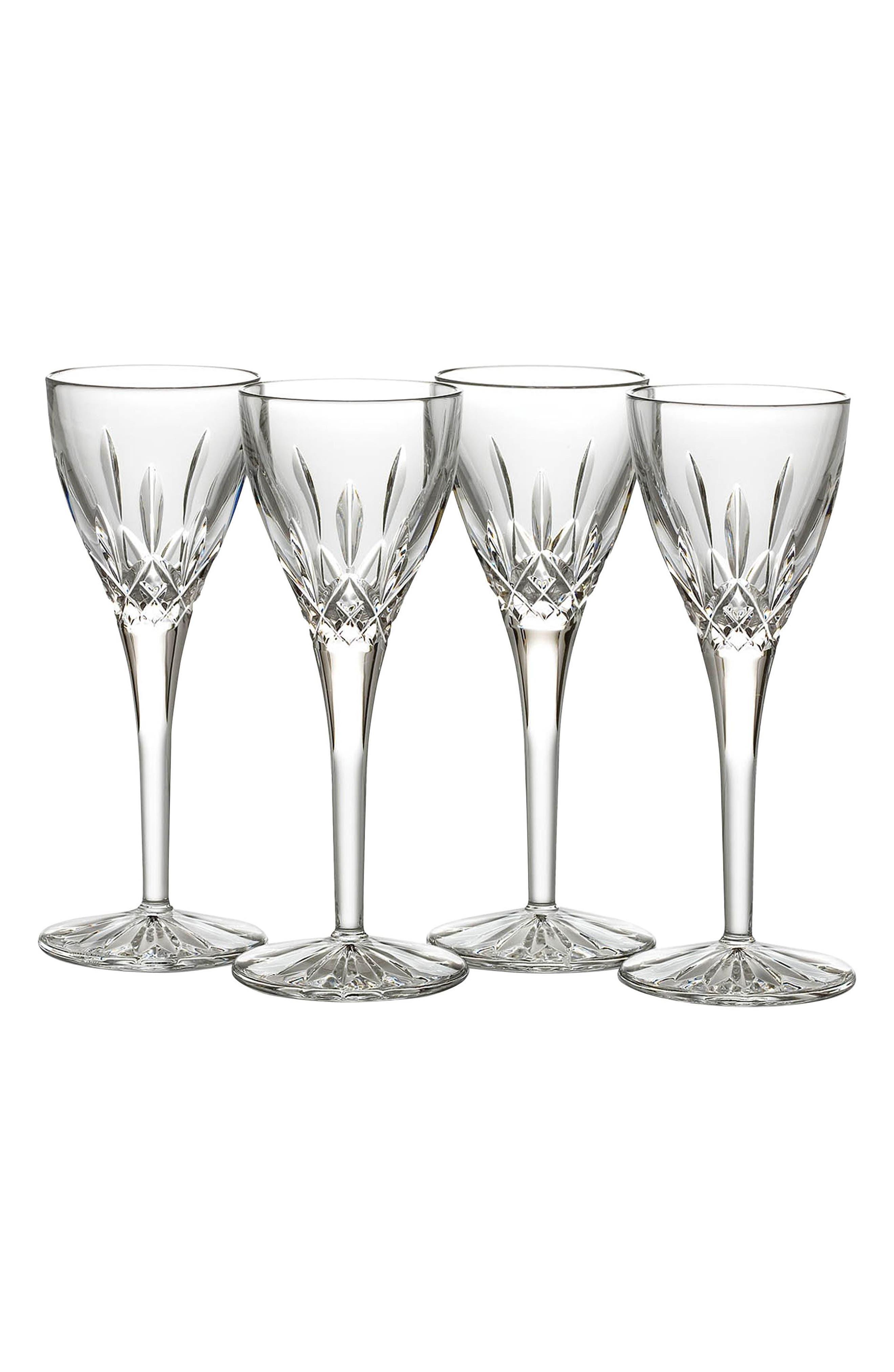 'Lismore' Lead Crystal Cordial Glasses,                             Alternate thumbnail 2, color,                             100