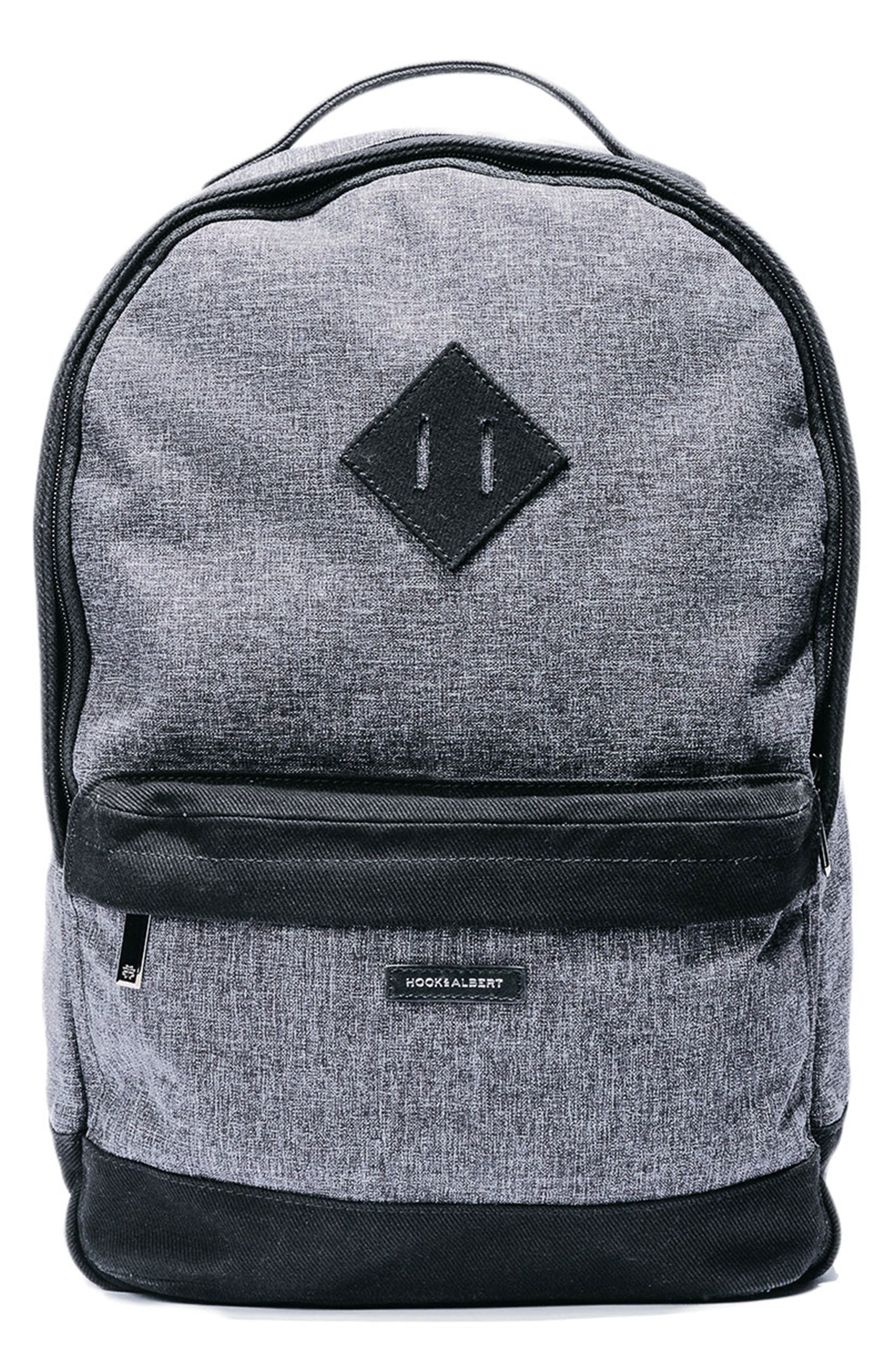 Backpack,                         Main,                         color, GREY