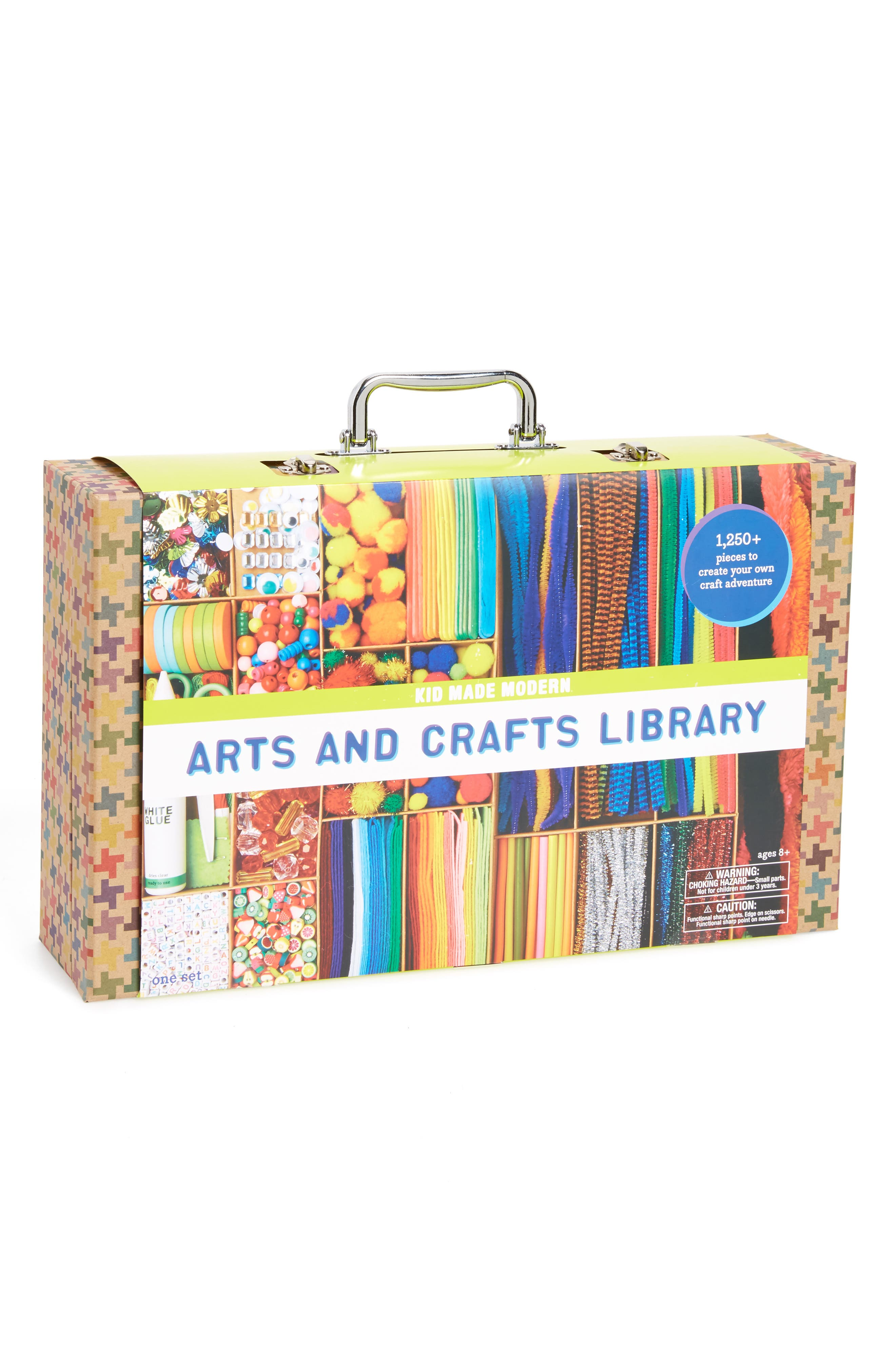 Arts & Crafts Library Kit, Main, color, MULTI