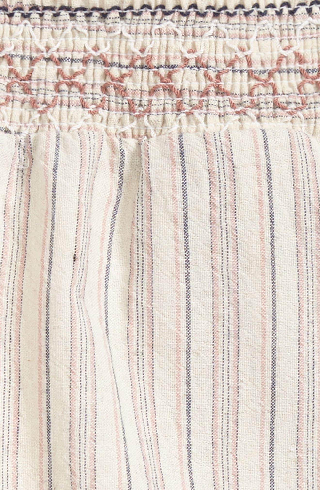 Stripe Woven Shorts,                             Alternate thumbnail 2, color,
