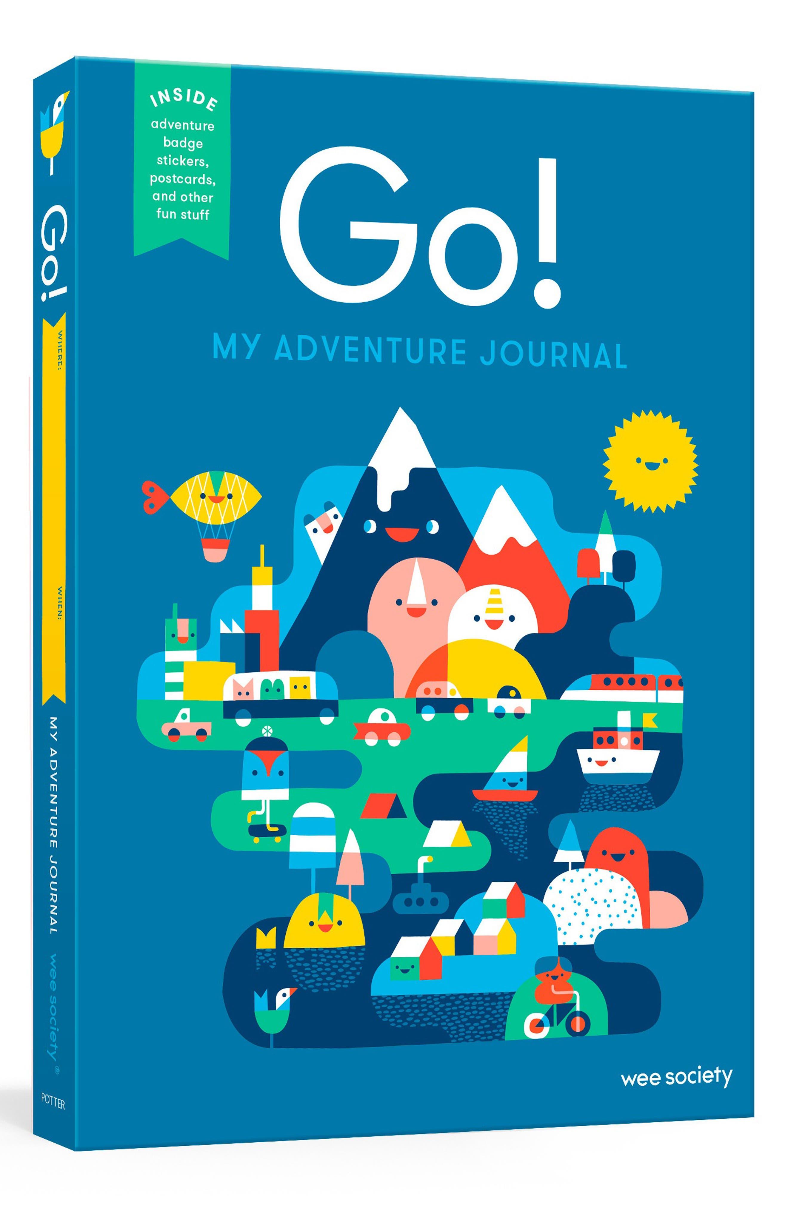 Penguin Random House Go Adventure Travel Journal Size One Size  Blue