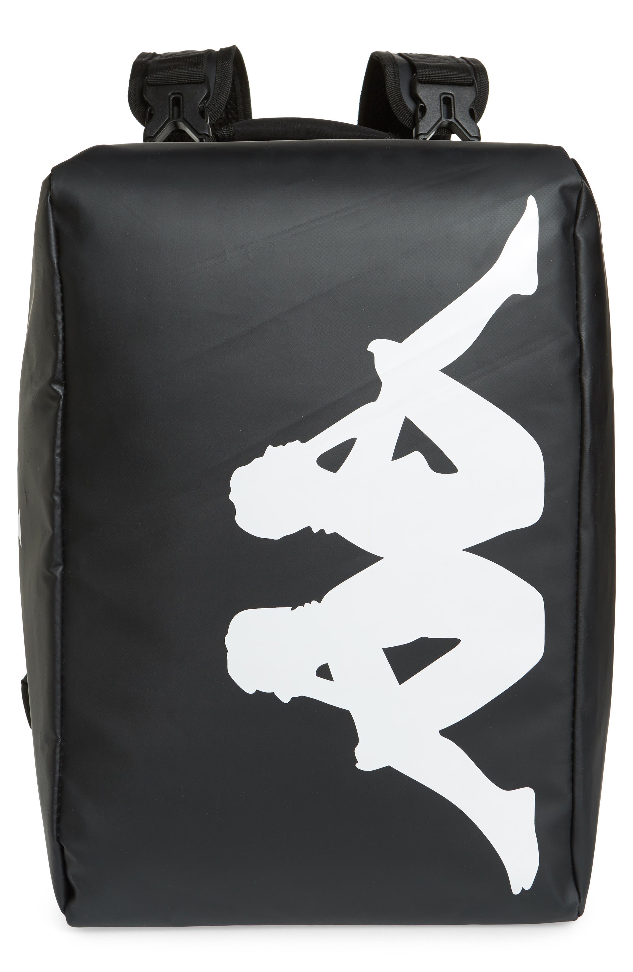 Kappa Active Coated Backpack - Black