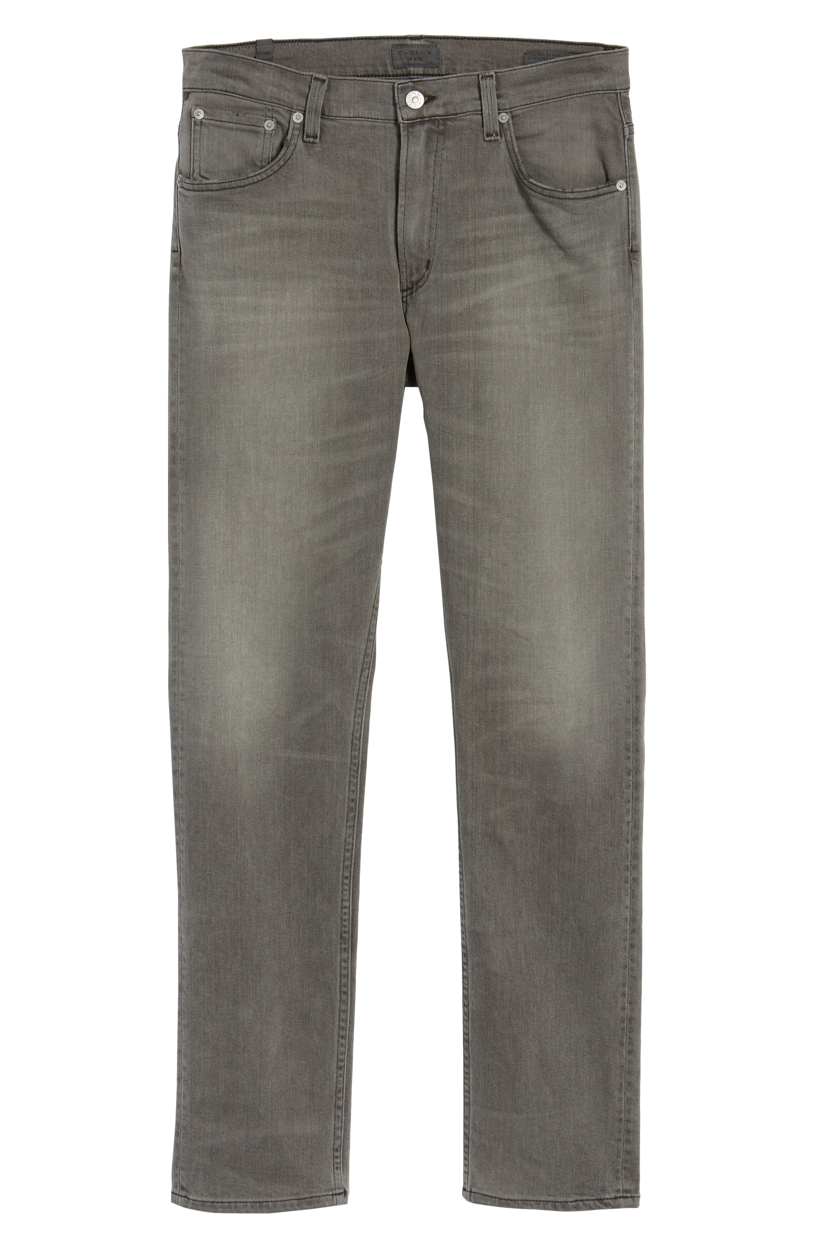 Bowery Slim Fit Jeans,                             Alternate thumbnail 6, color,                             LEON