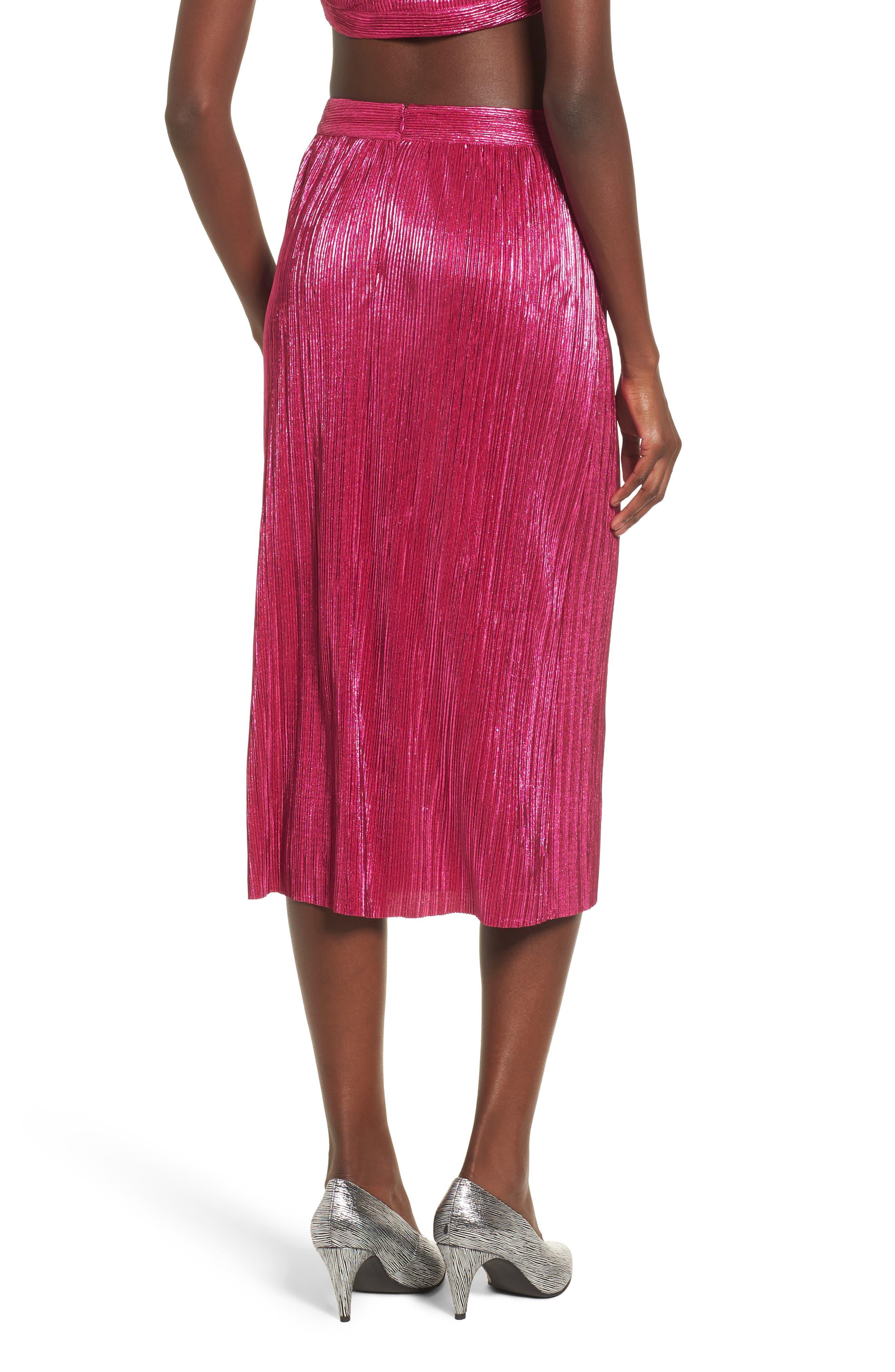 Marion Midi Skirt,                             Alternate thumbnail 2, color,                             650