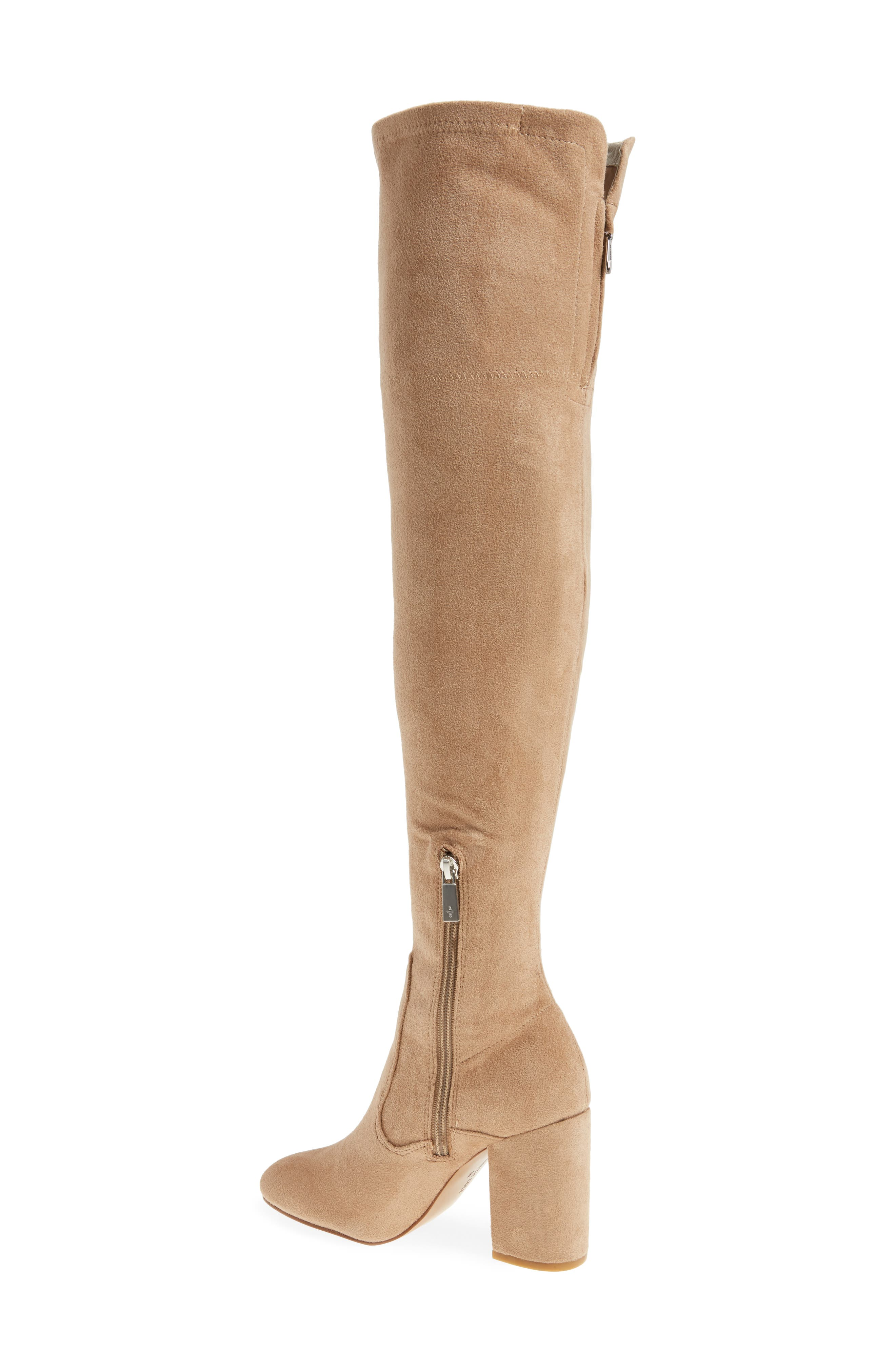 Carah Over the Knee Boot,                             Alternate thumbnail 8, color,