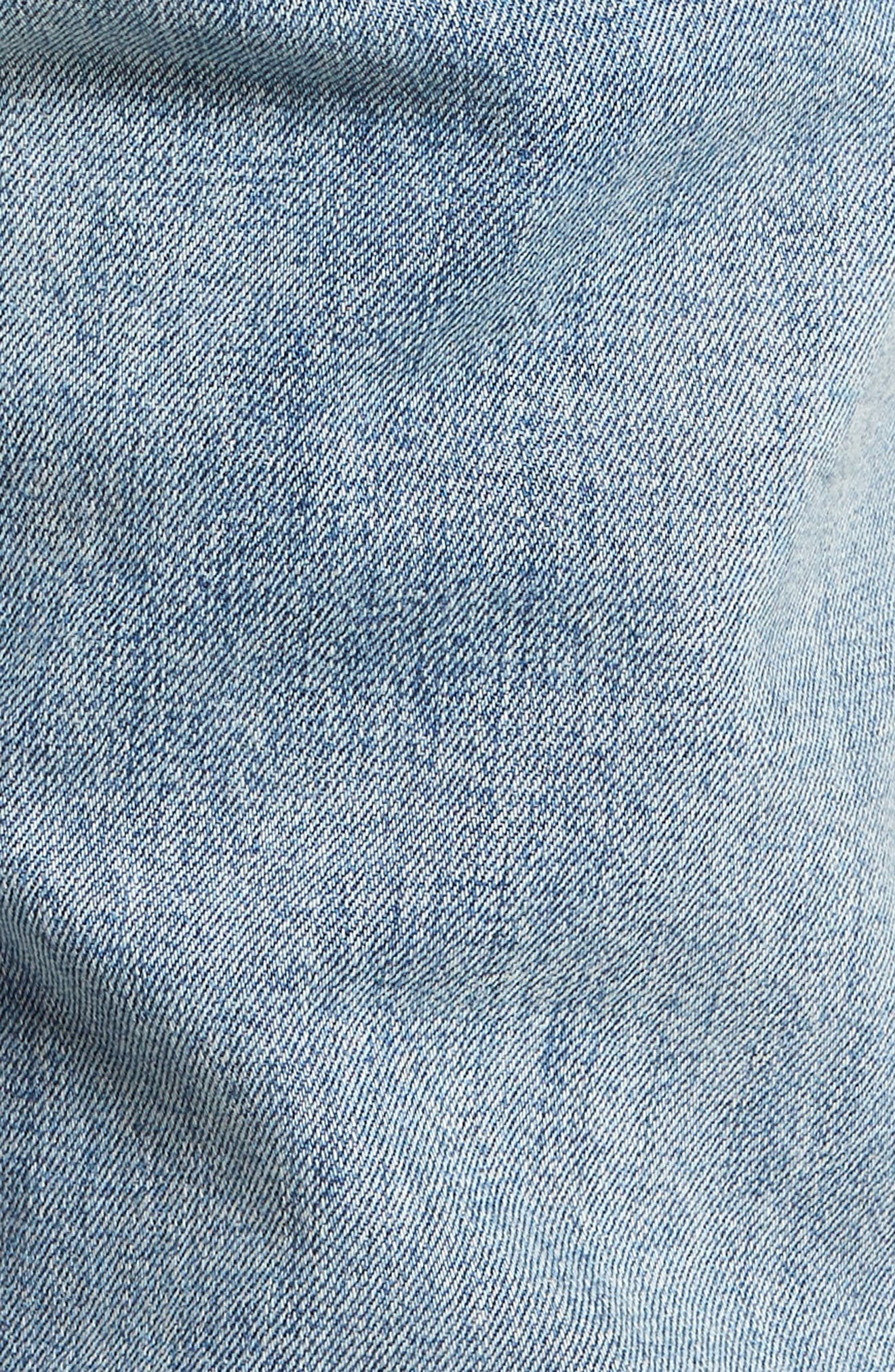 LEVI'S<SUP>®</SUP> MADE & CRAFTED<SUP>™</SUP>,                             Needle Narrow Skinny Fit Denim,                             Alternate thumbnail 5, color,                             420