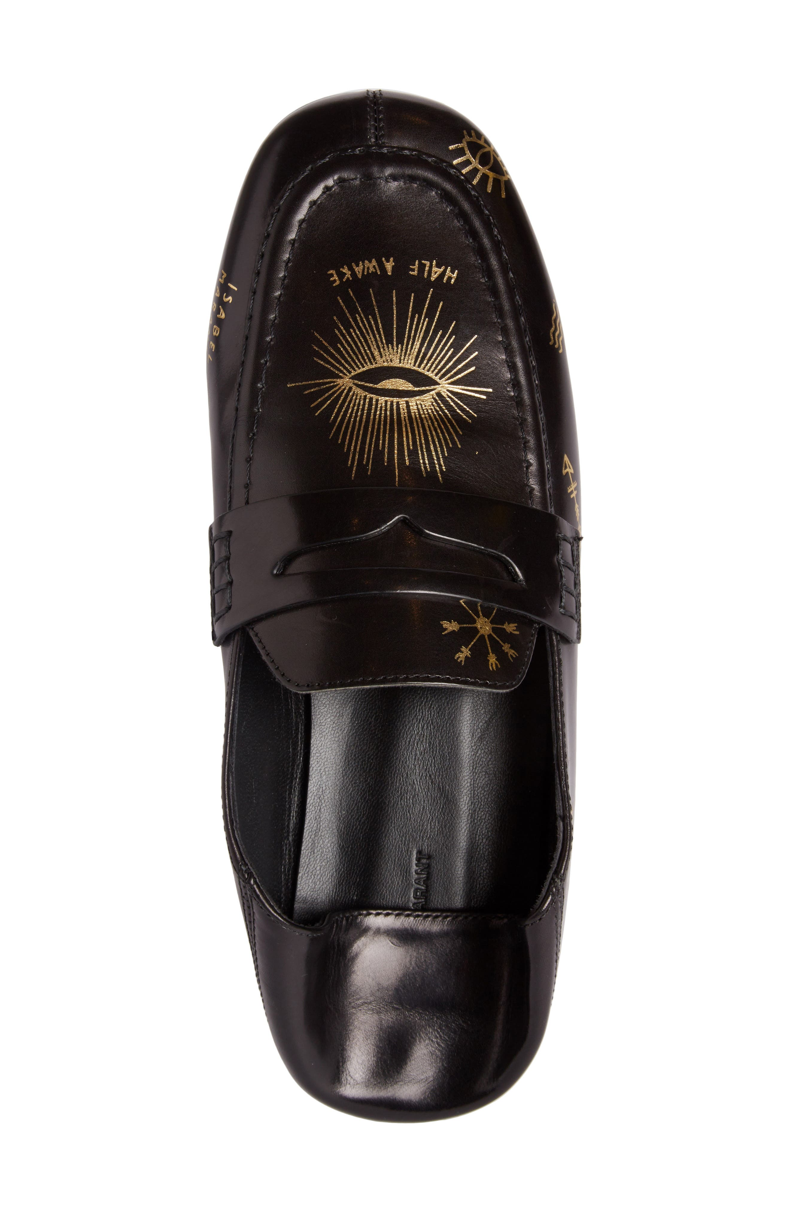 Fezzy Print Convertible Loafer,                             Alternate thumbnail 4, color,