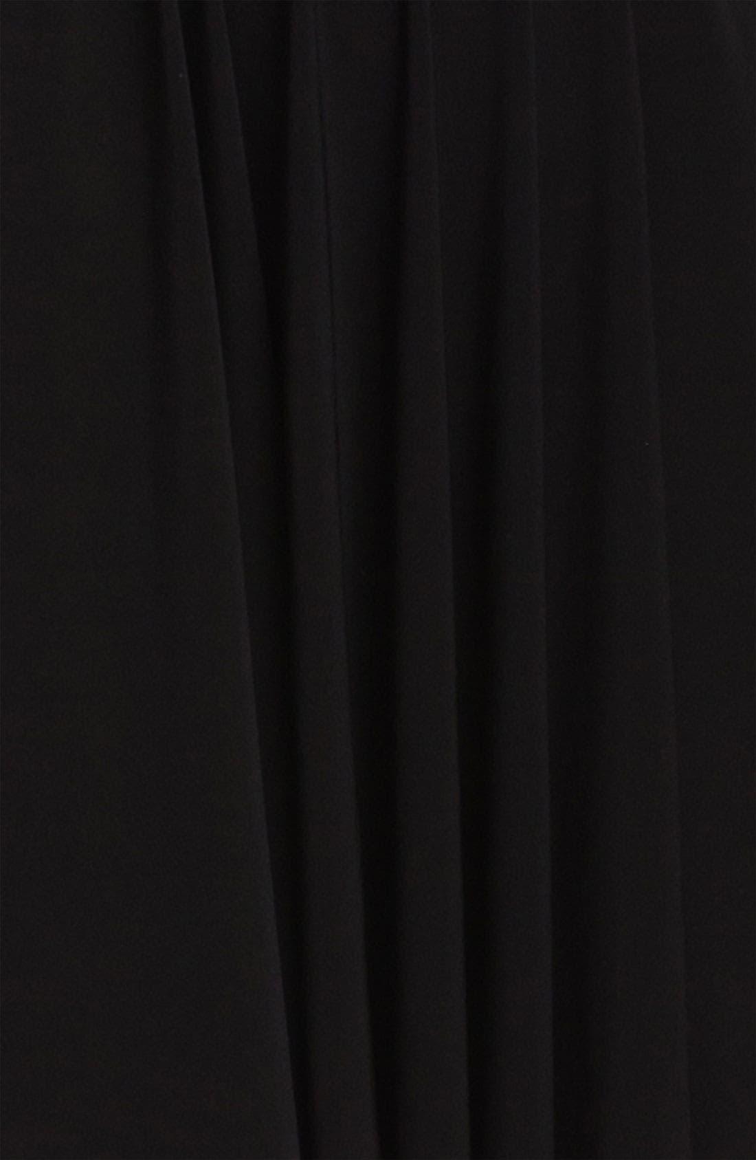 Shirred Long Sleeve Dress,                             Alternate thumbnail 3, color,                             001