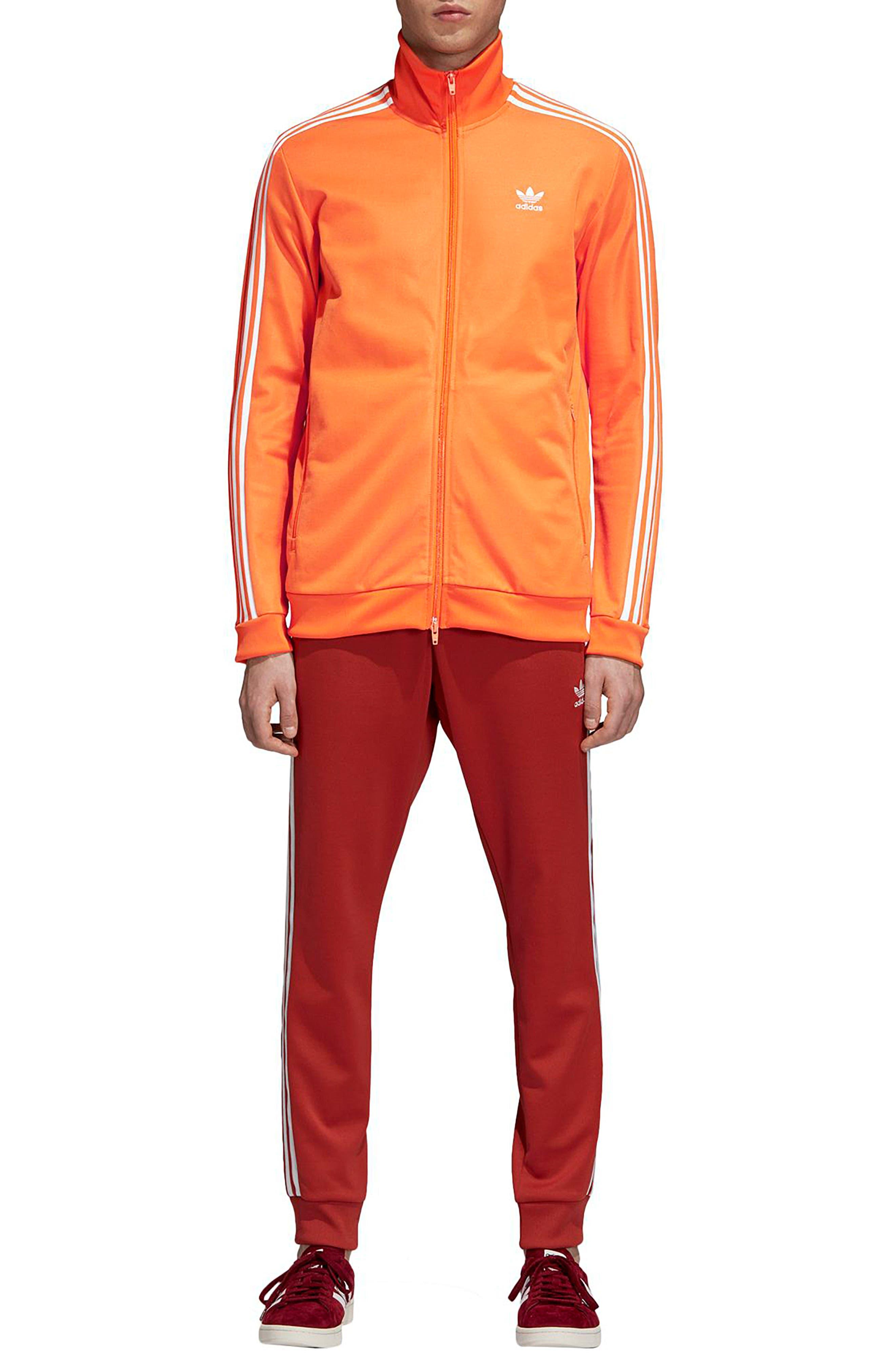 BB Track Jacket,                             Alternate thumbnail 5, color,                             BRIGHT ORANGE